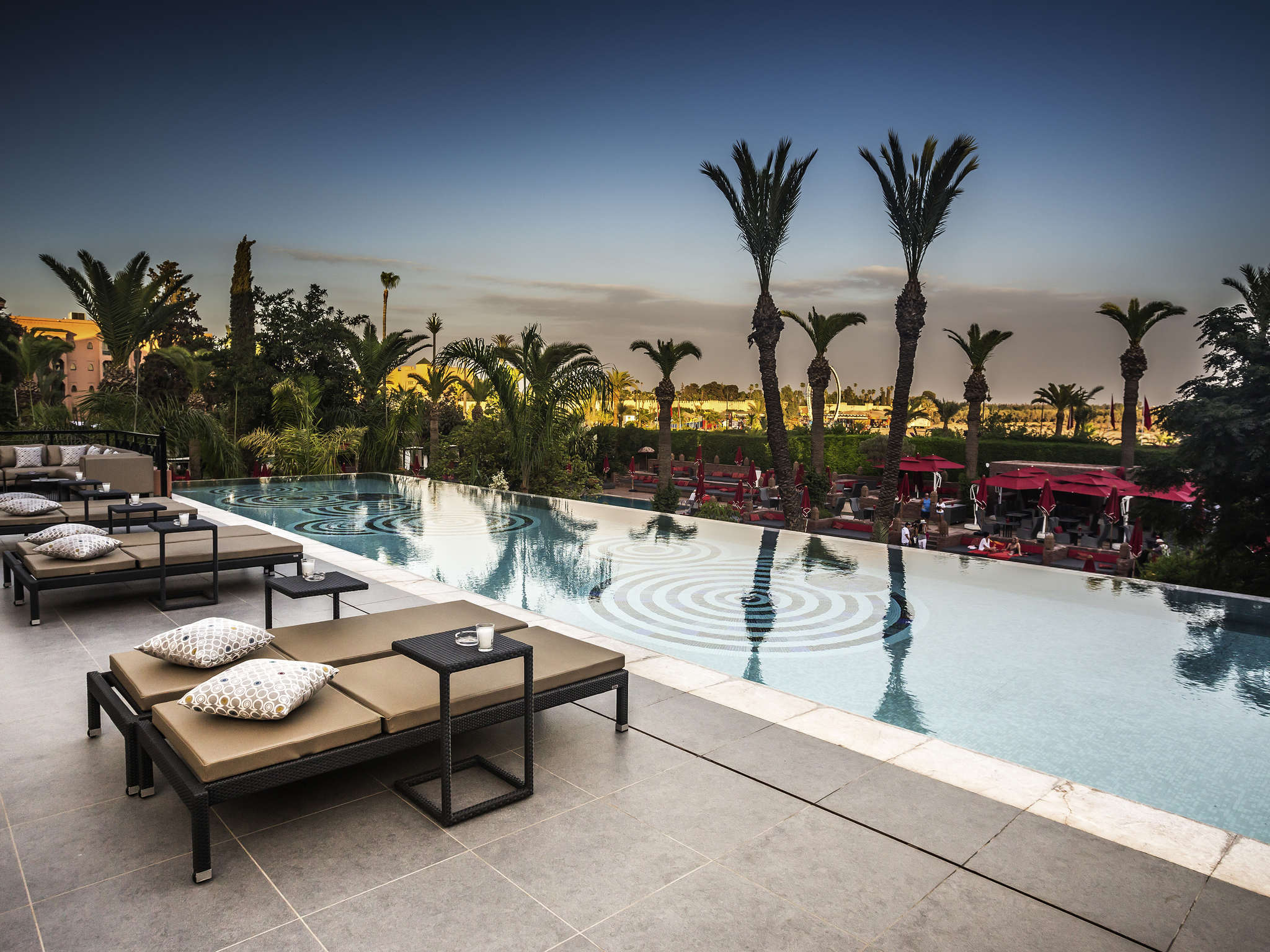 호텔 – Sofitel Marrakech Lounge & Spa