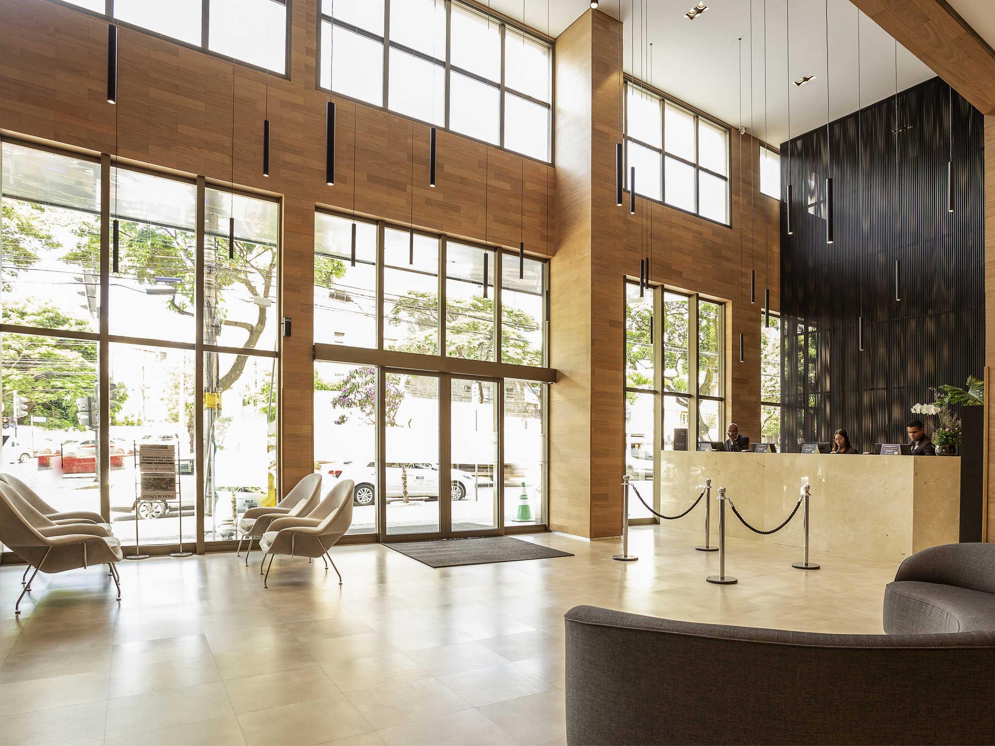 Otel – Mercure Belo Horizonte Lourdes Hotel