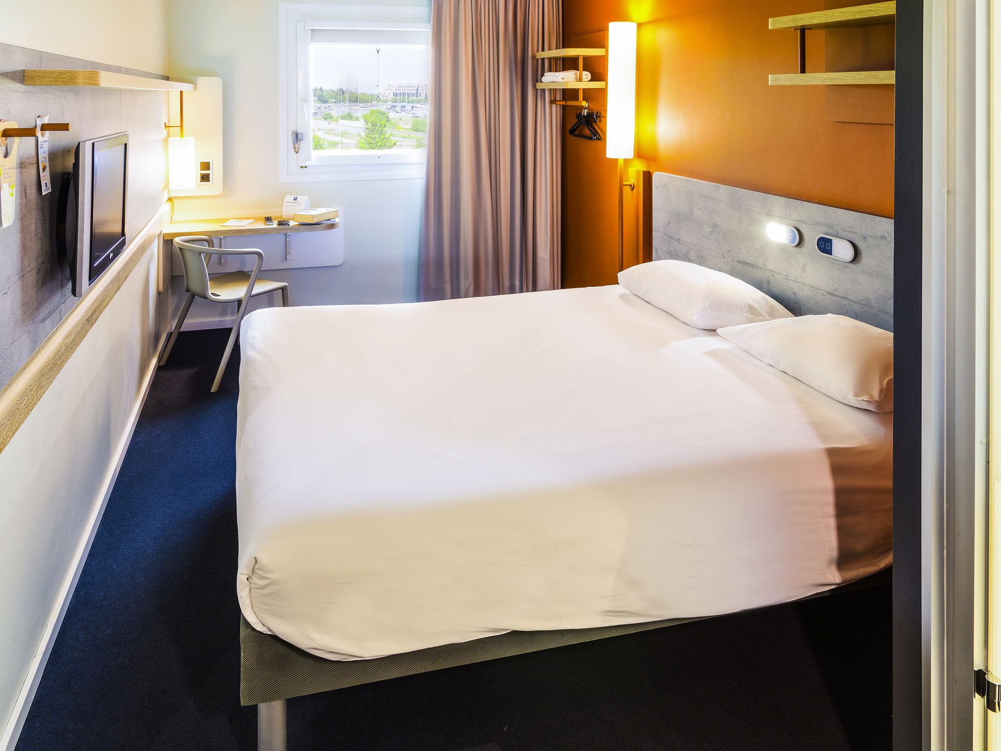Hotell – ibis budget Luxembourg Aéroport