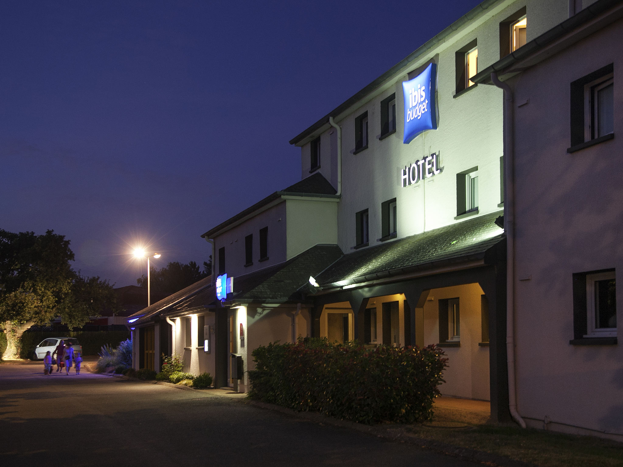 Hotell – ibis budget Nantes Sainte-Luce