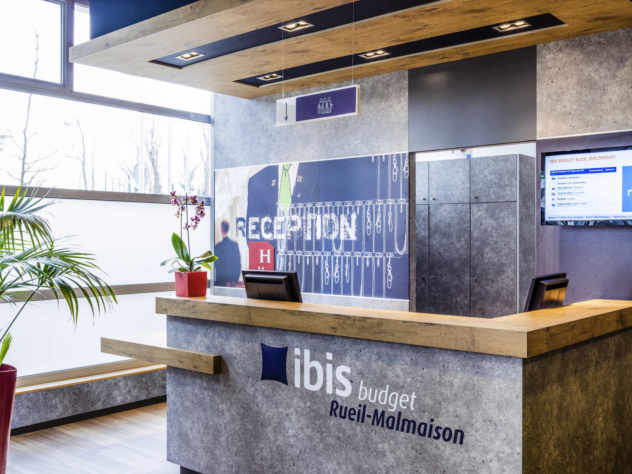 Hôtel - ibis budget Rueil-Malmaison