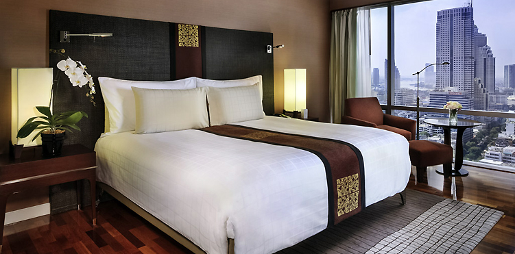 Chambres suites pullman bangkok hotel g for Lit king size but