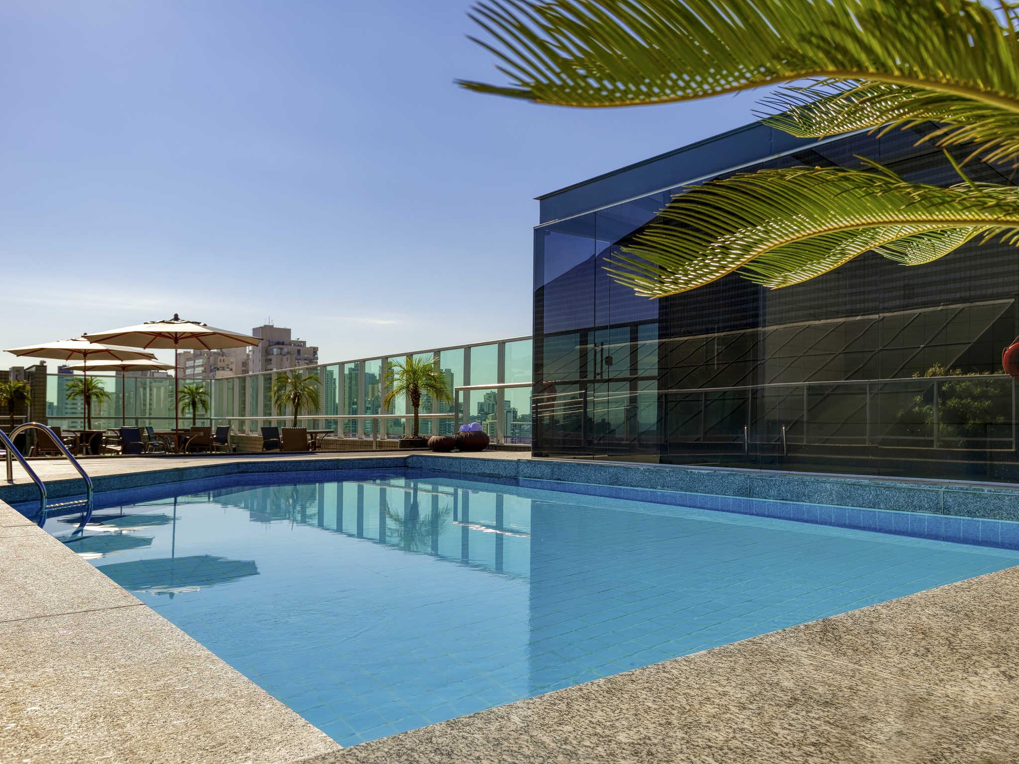 Отель — Mercure Belo Horizonte Vila da Serra Hotel