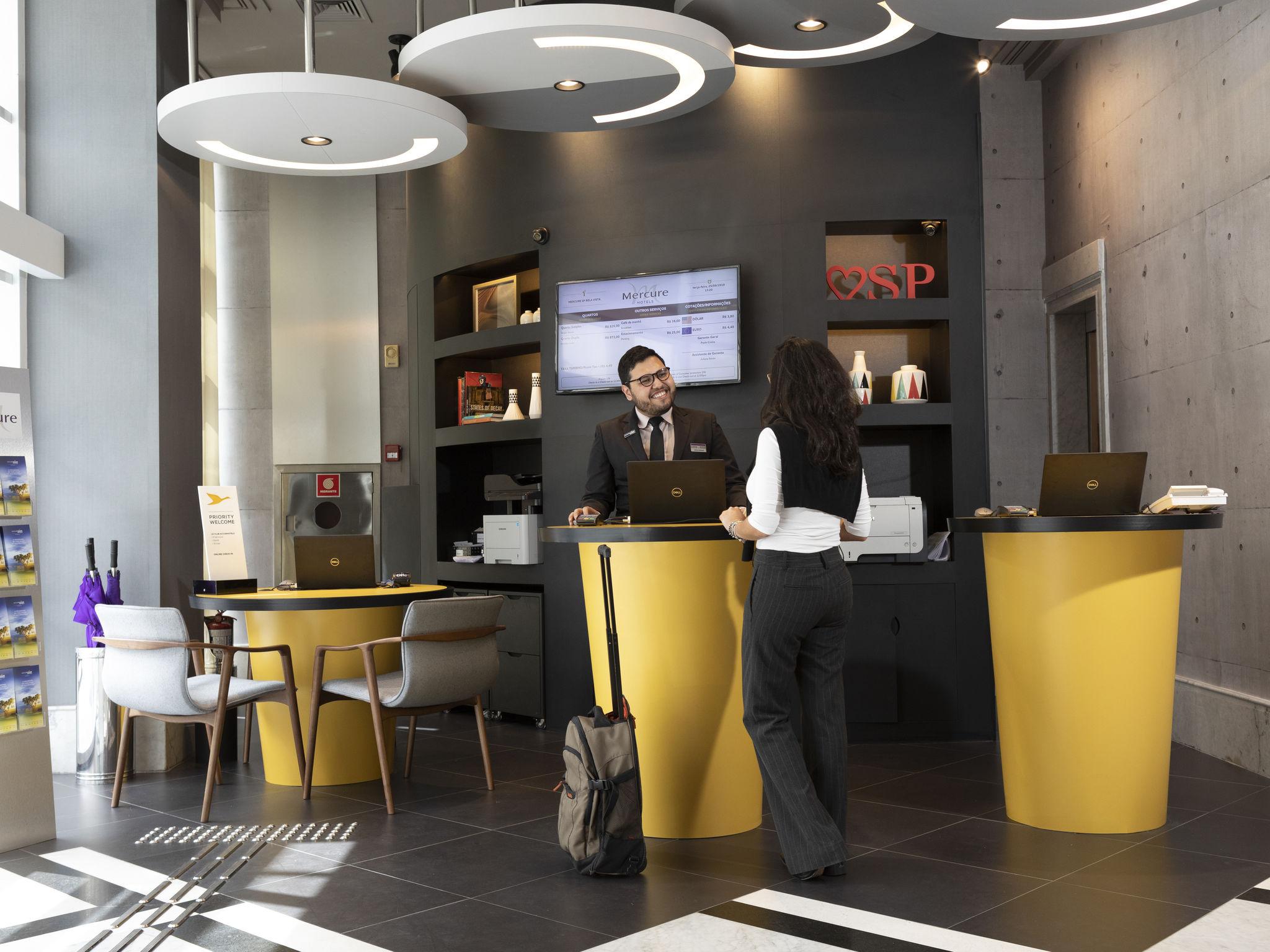 โรงแรม – Mercure São Paulo Bela Vista Hotel