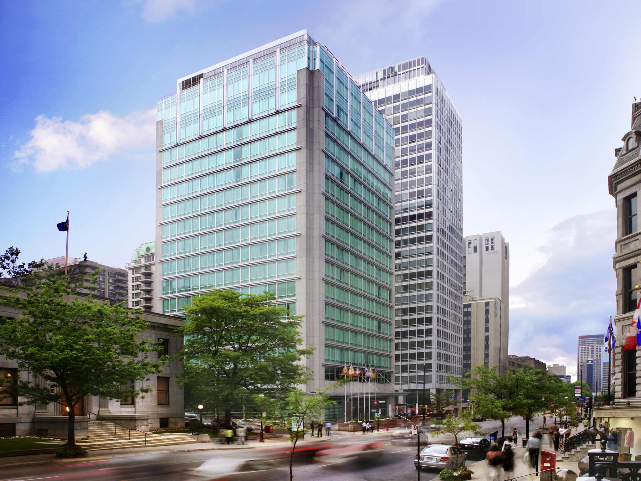 โรงแรม – Sofitel Montréal Golden Mile