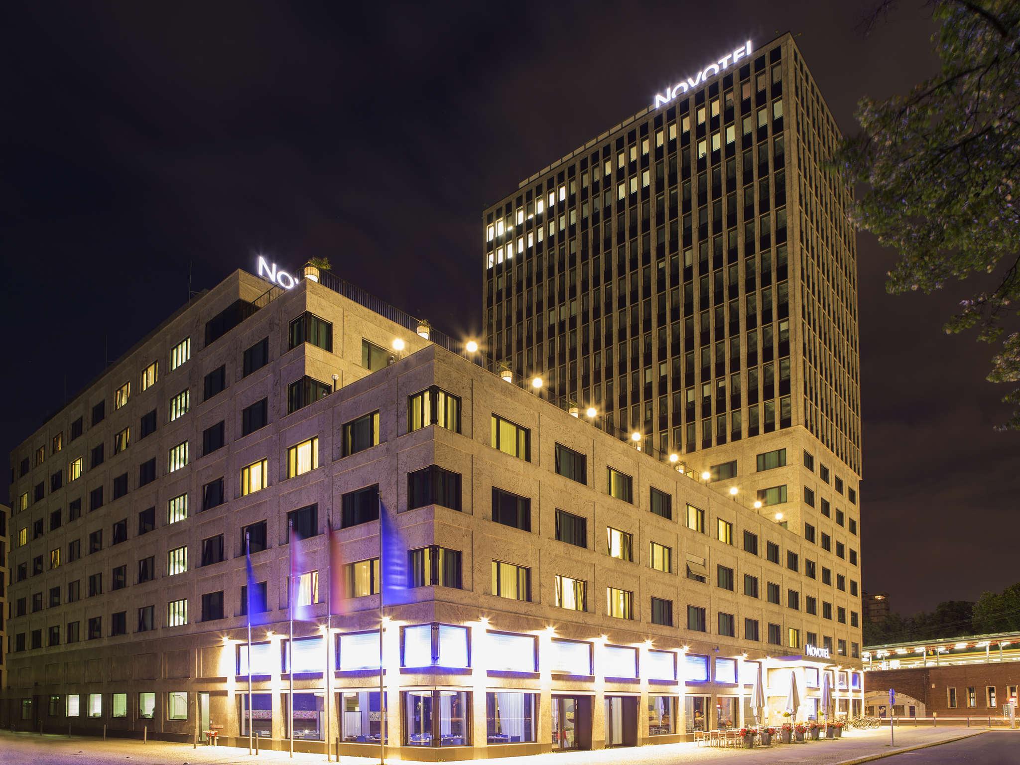 Отель — Novotel Берлин Am Tiergarten