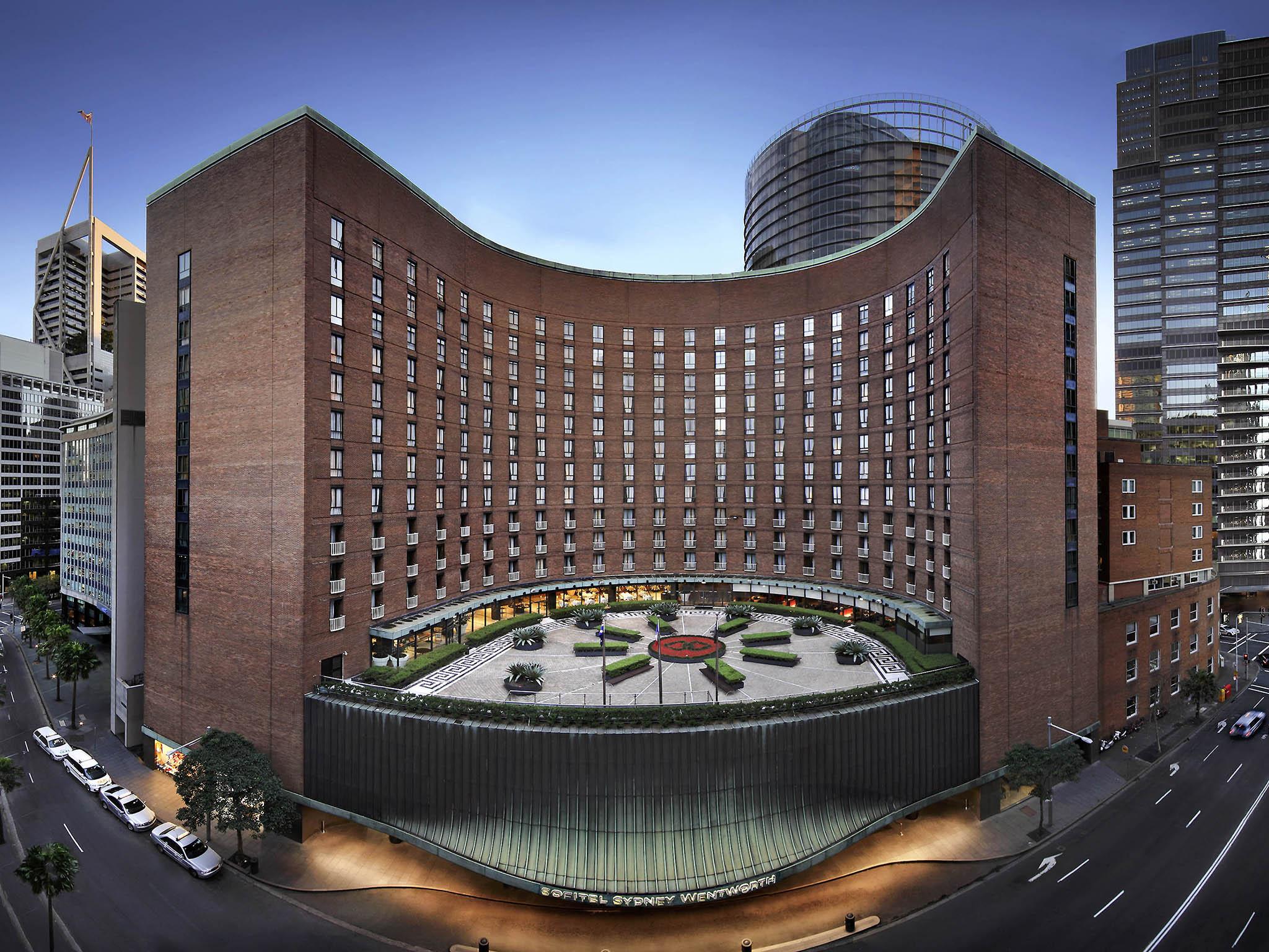 โรงแรม – โซฟิเทล ซิดนีย์ เวนท์เวิร์ธ