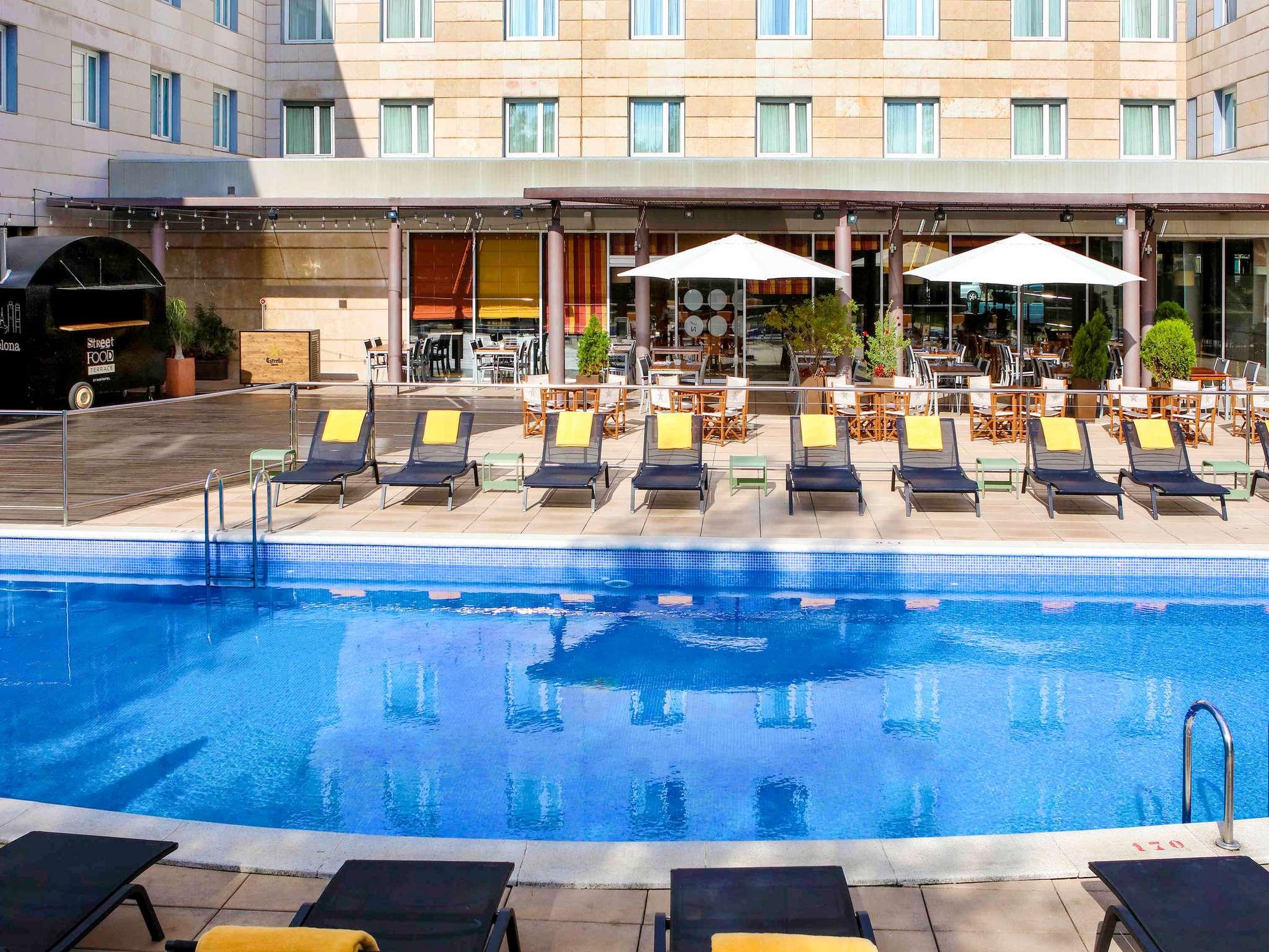 Отель — Novotel Барселона Корнелья