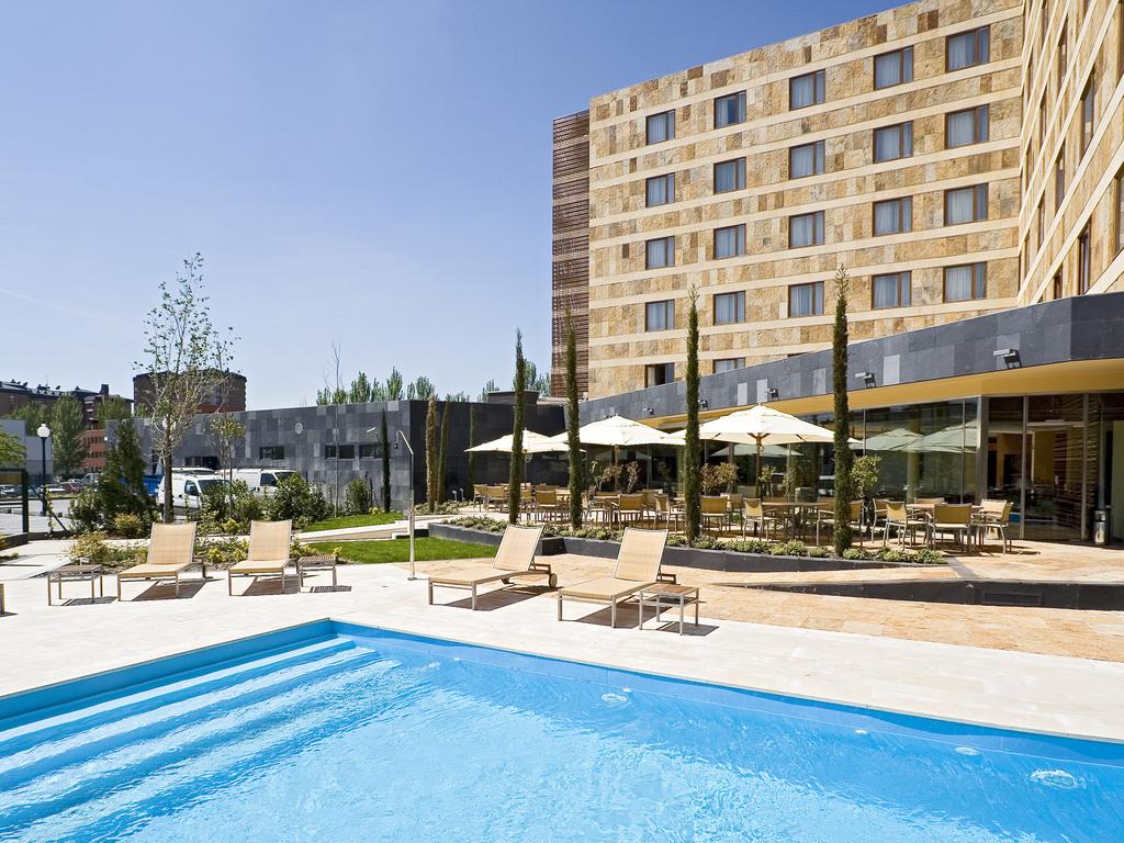 Hotel Valladolid Avec Piscine