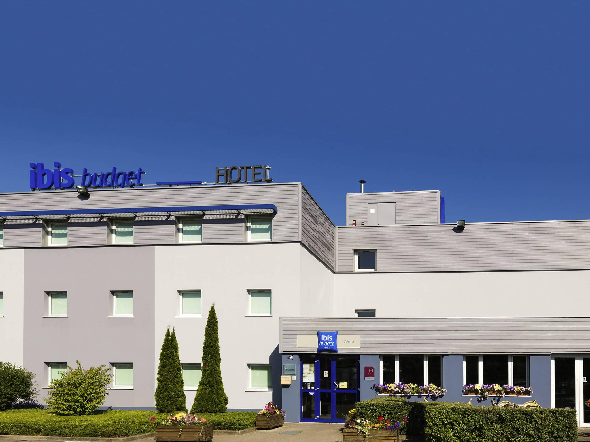Отель — ibis budget Sélestat