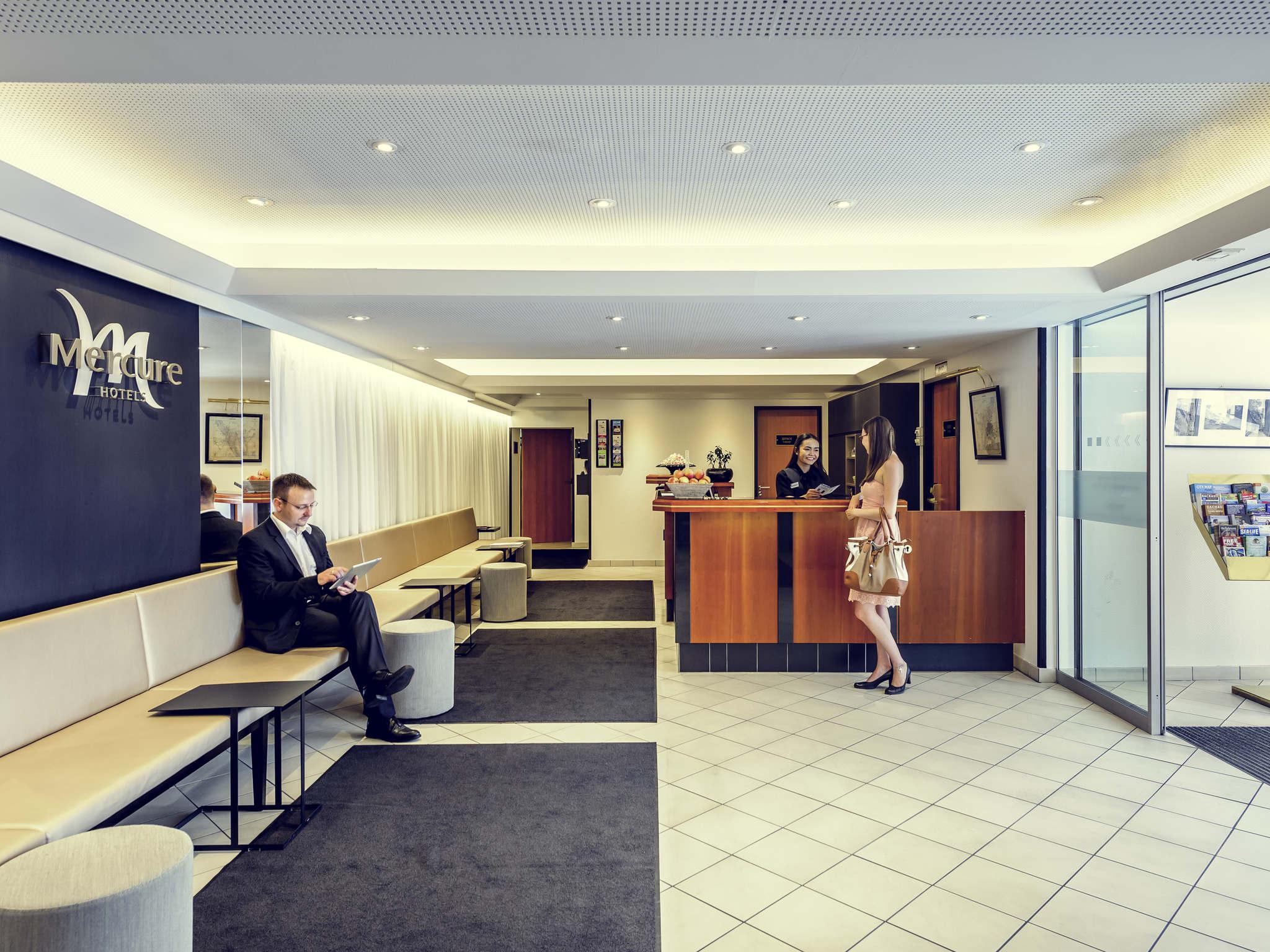 Hotel – Mercure Hotel Monaco Altstadt