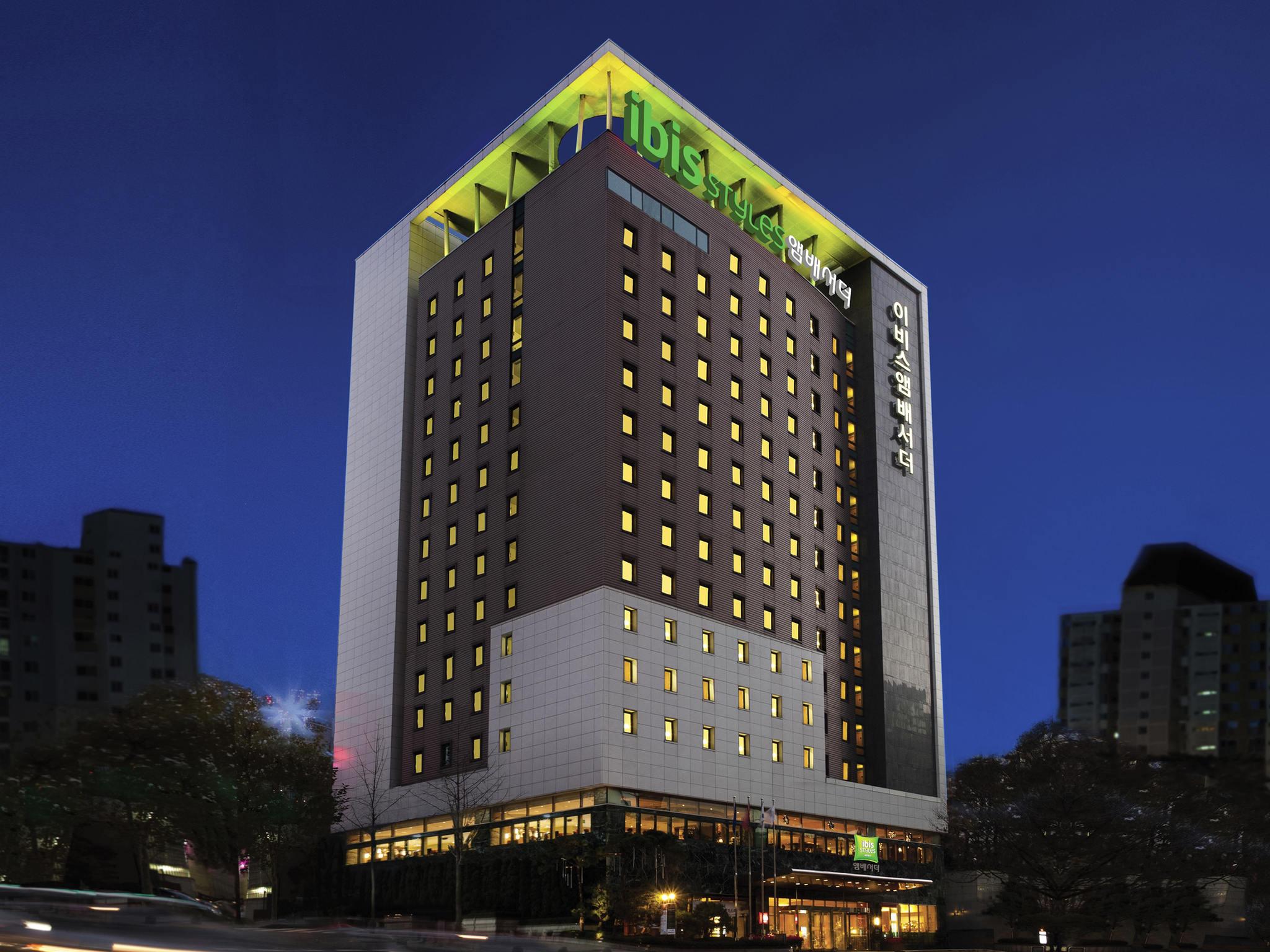 酒店 – 宜必思尚品首尔江南大使酒店