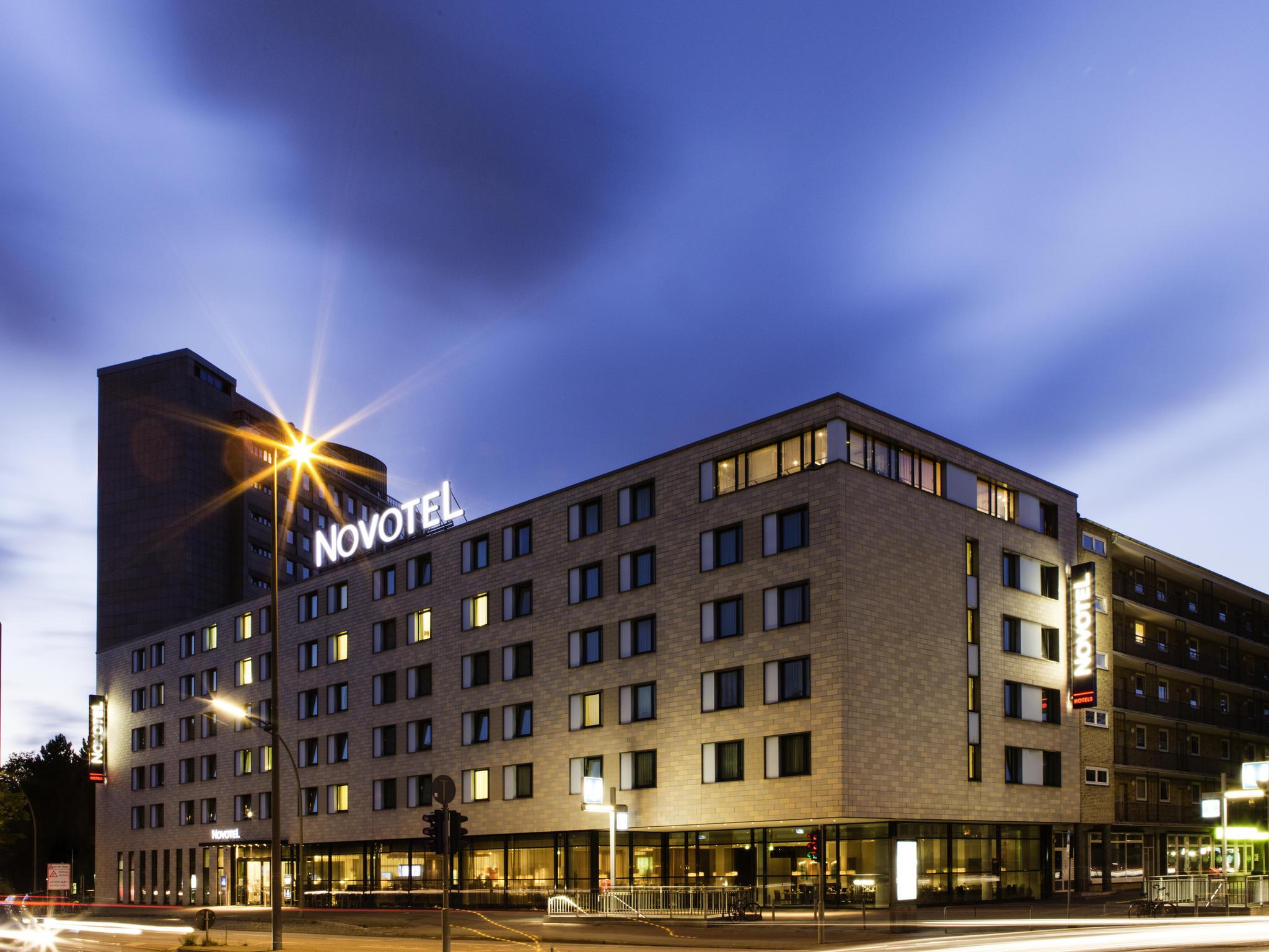 ハンブルク ホテル ノボテルハン...