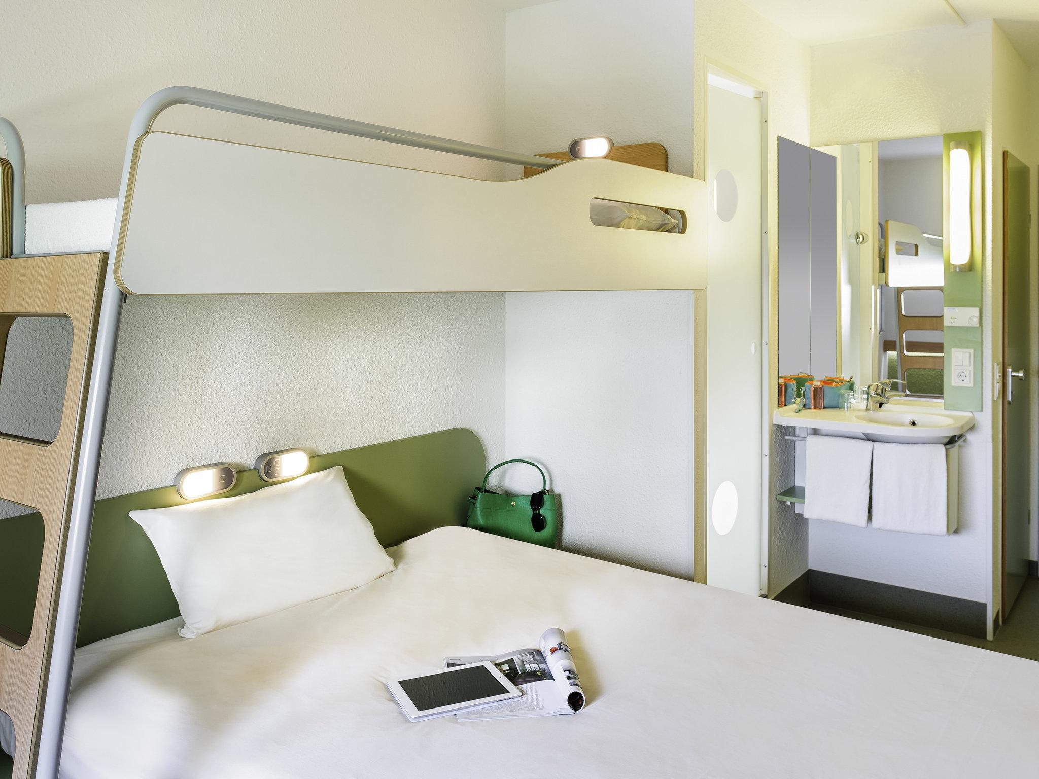 Отель — ibis budget Лион Жерлан