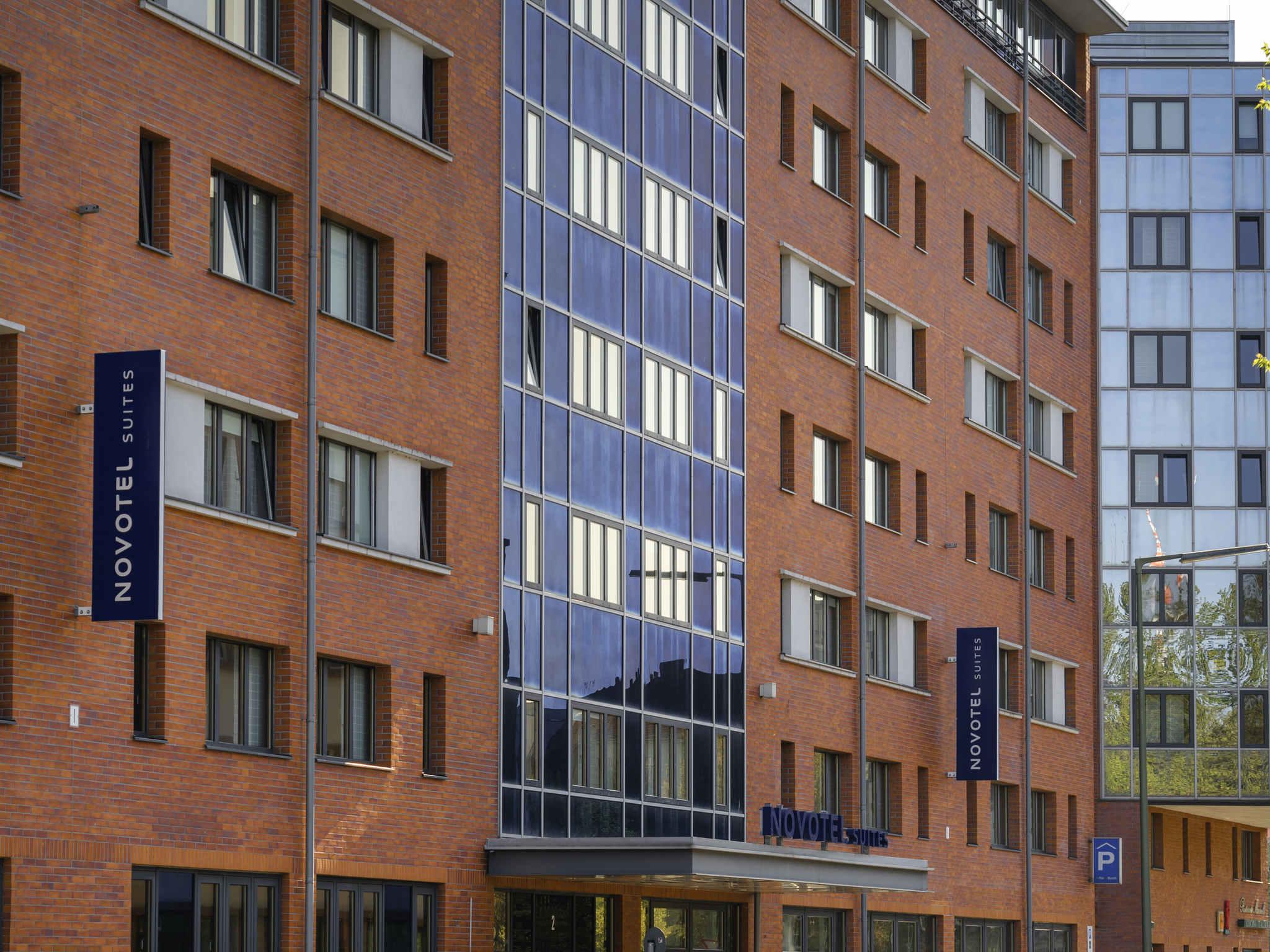 Отель — Novotel Suites Берлин Потсдамер Плац