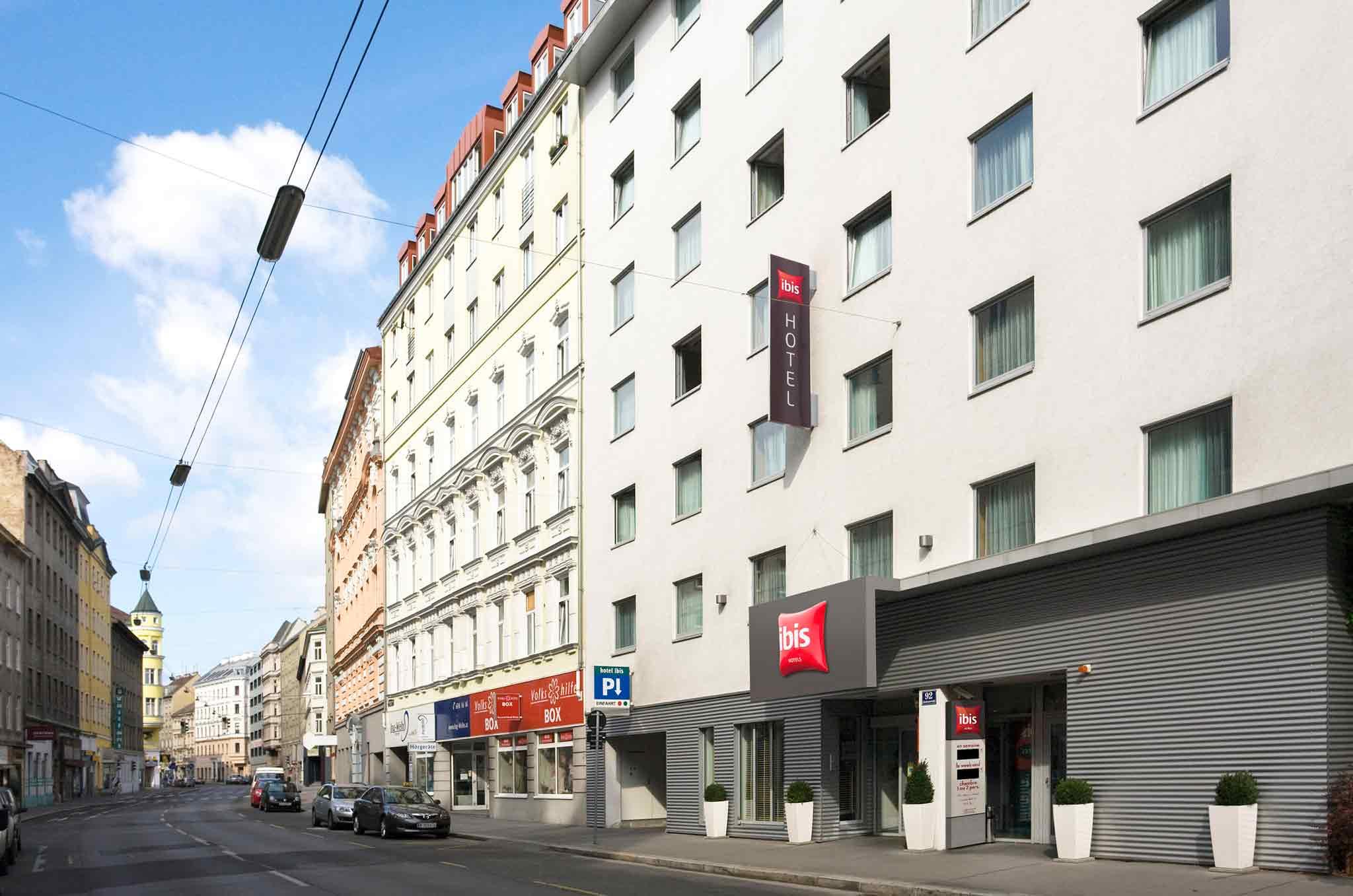 Отель — ibis Вена Сити