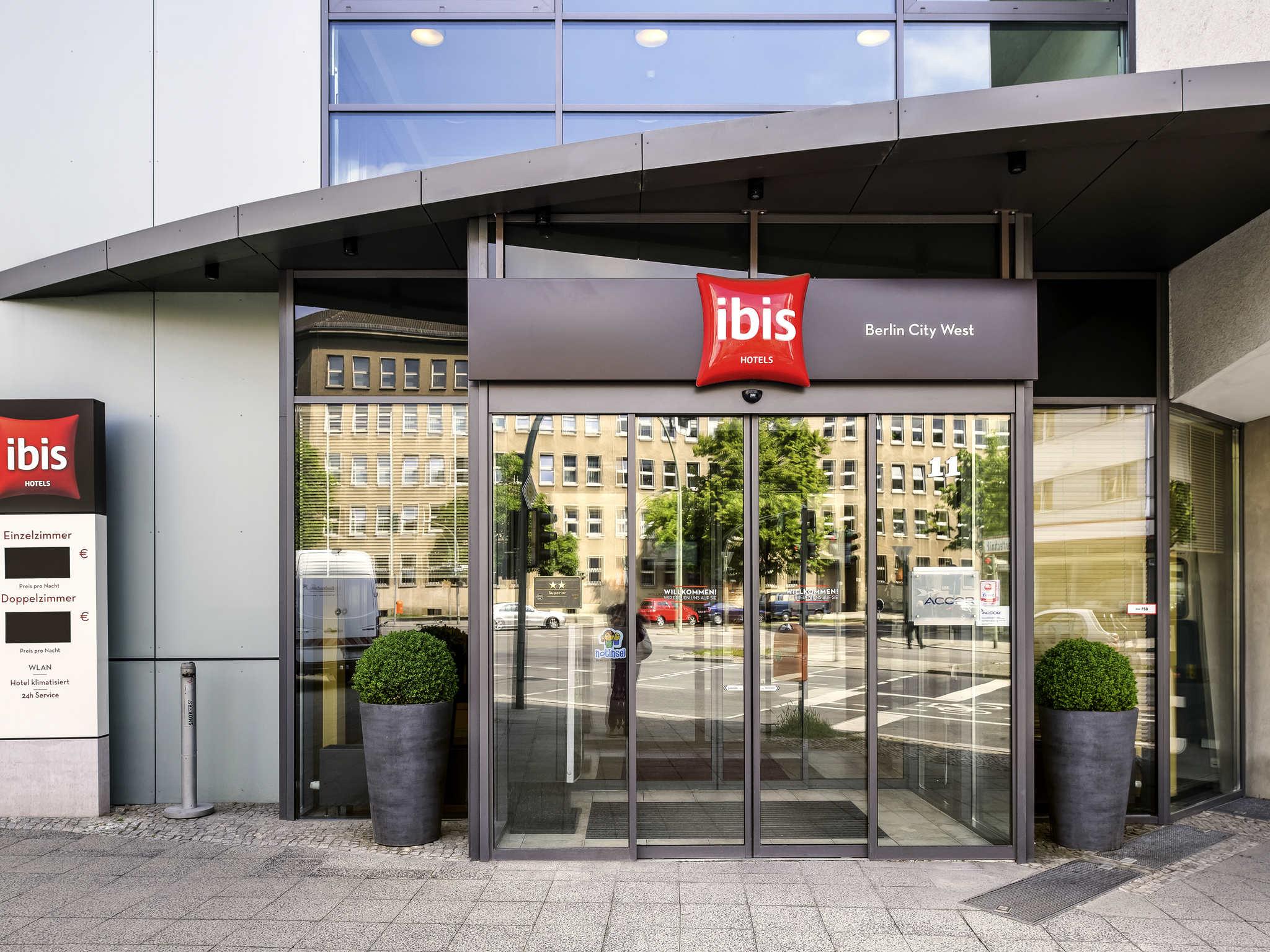 Отель — ibis Берлин Сити Запад