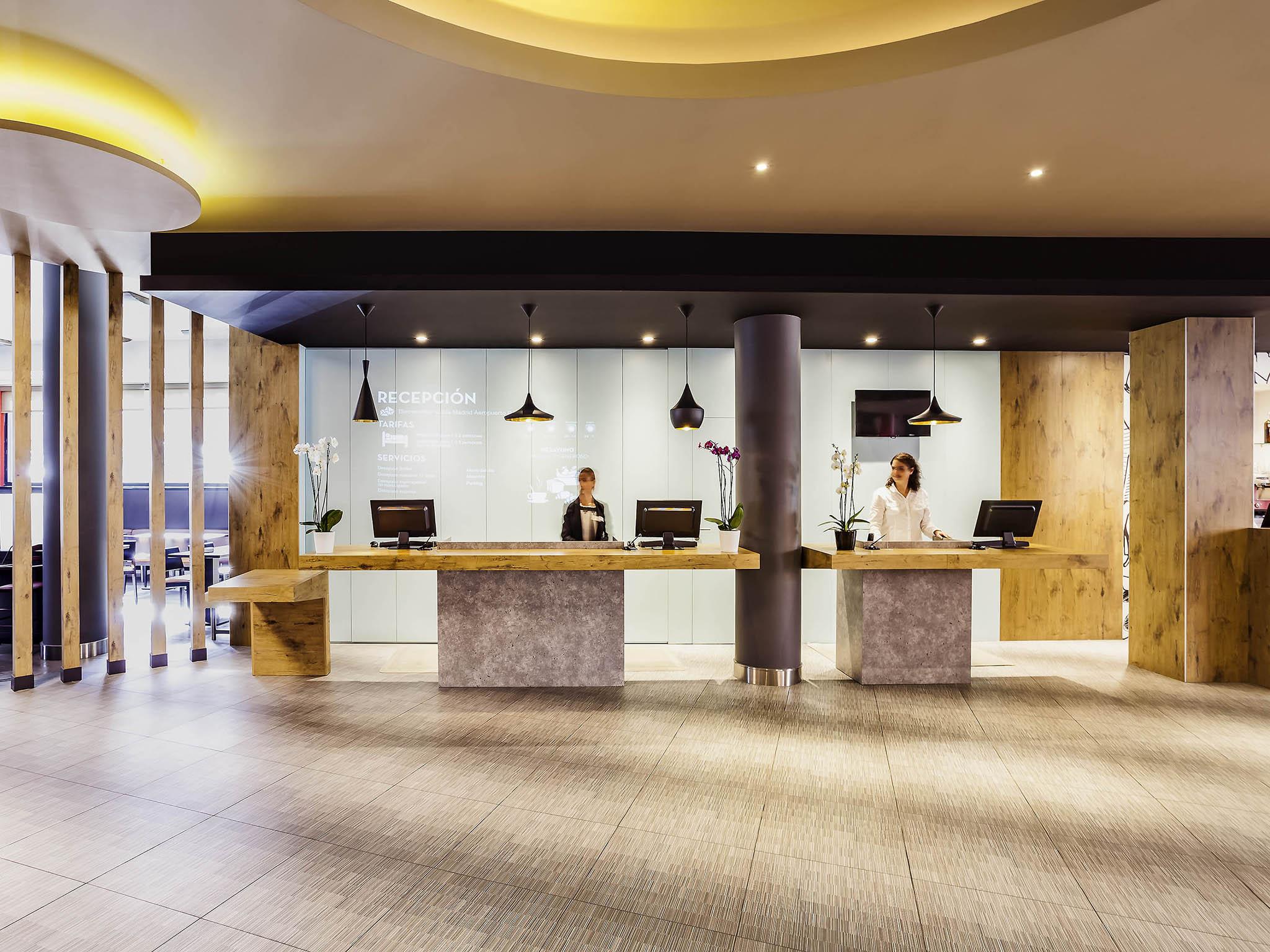 Отель — ibis Мадрид Аэропорт Барахас