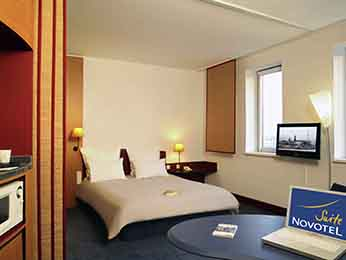 객실 - Novotel Suites Hamburg City