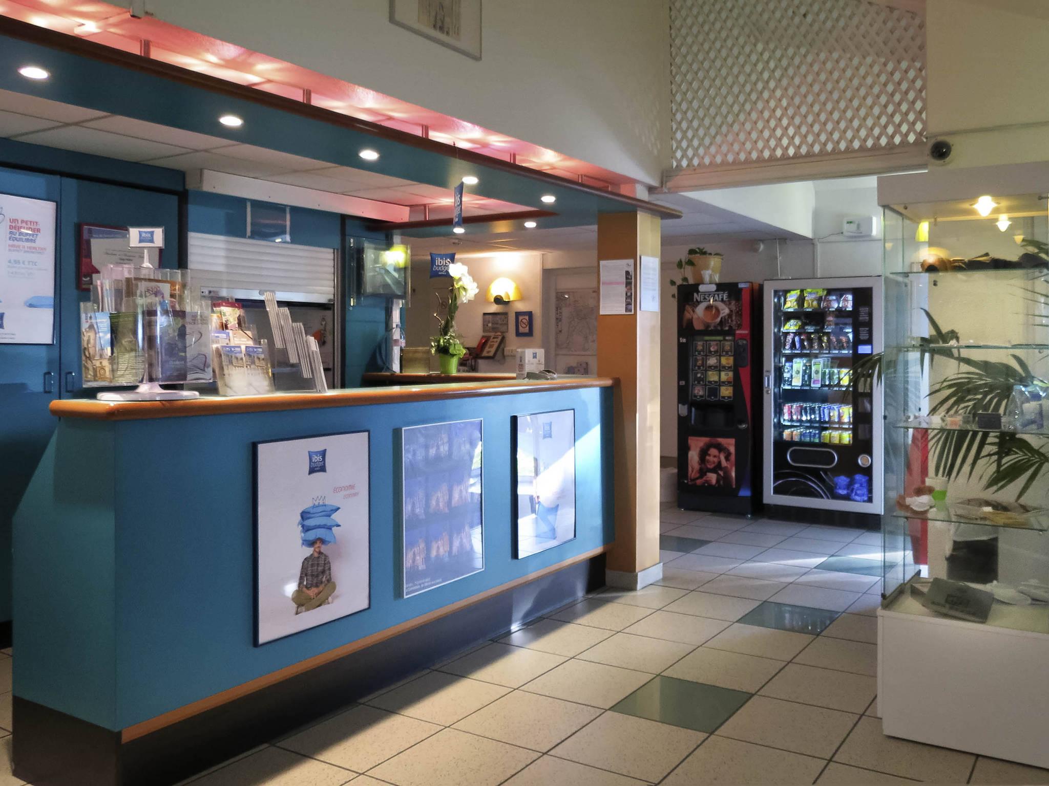 Otel – ibis budget Rouen Centre Rive Gauche
