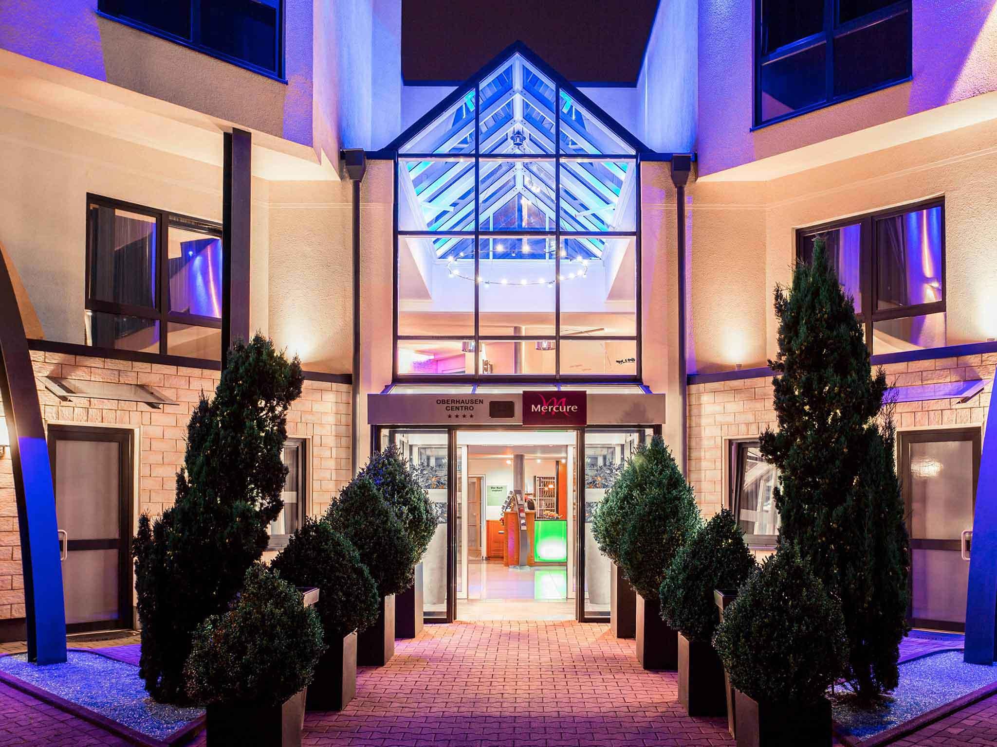 Отель — Mercure Hotel am Centro Oberhausen
