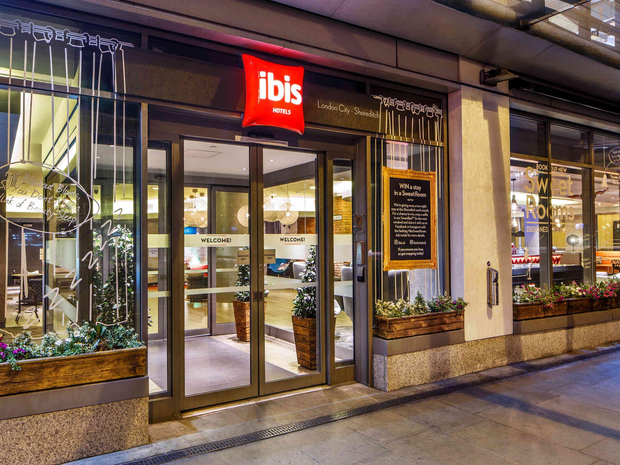 Отель — ibis Лондон Сити — Шордитч