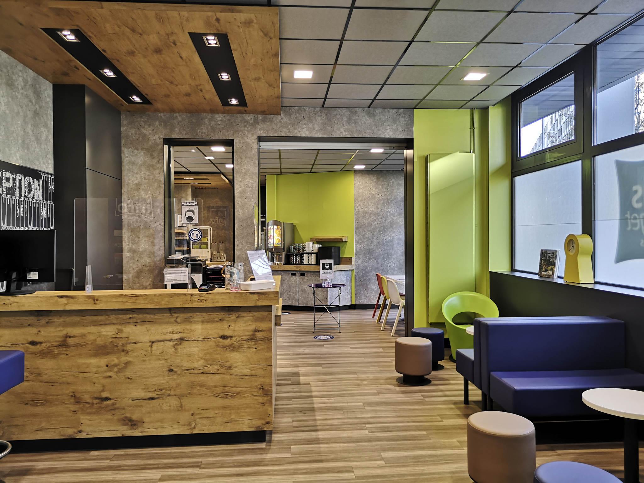 Hôtel - ibis budget Tours Centre Gare
