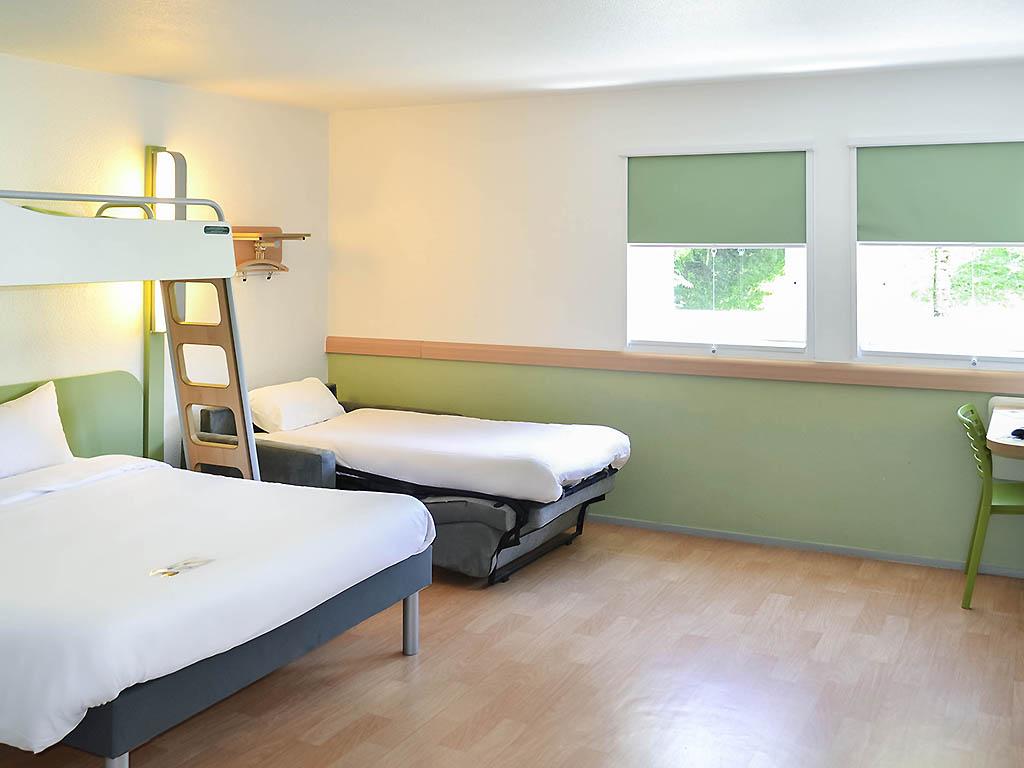 Hotel en gr sy sur aix ibis budget aix les bains nord for Hotel augustus habitacion familiar