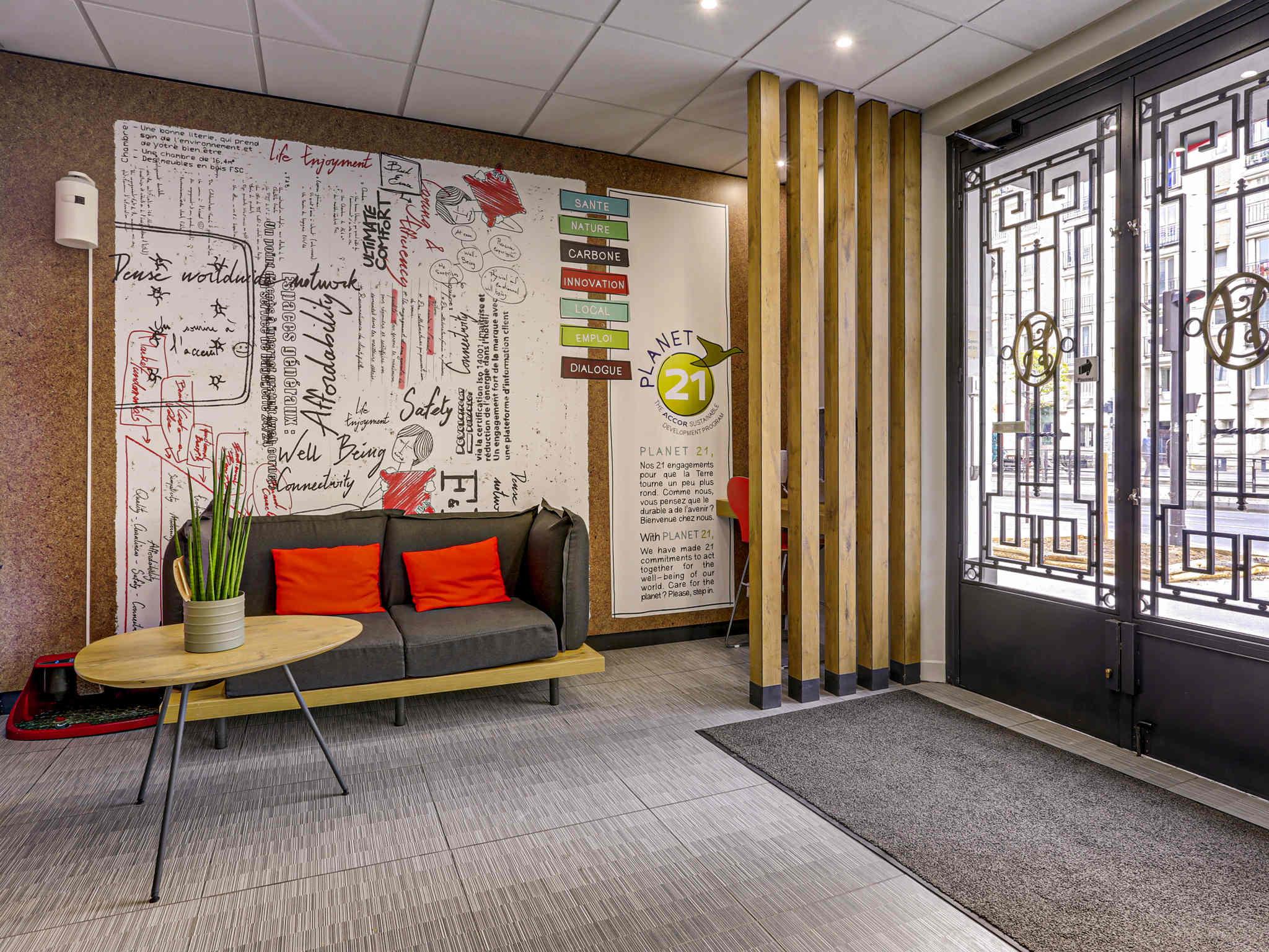 Hotel – ibis Daumesnil Porte Dorée