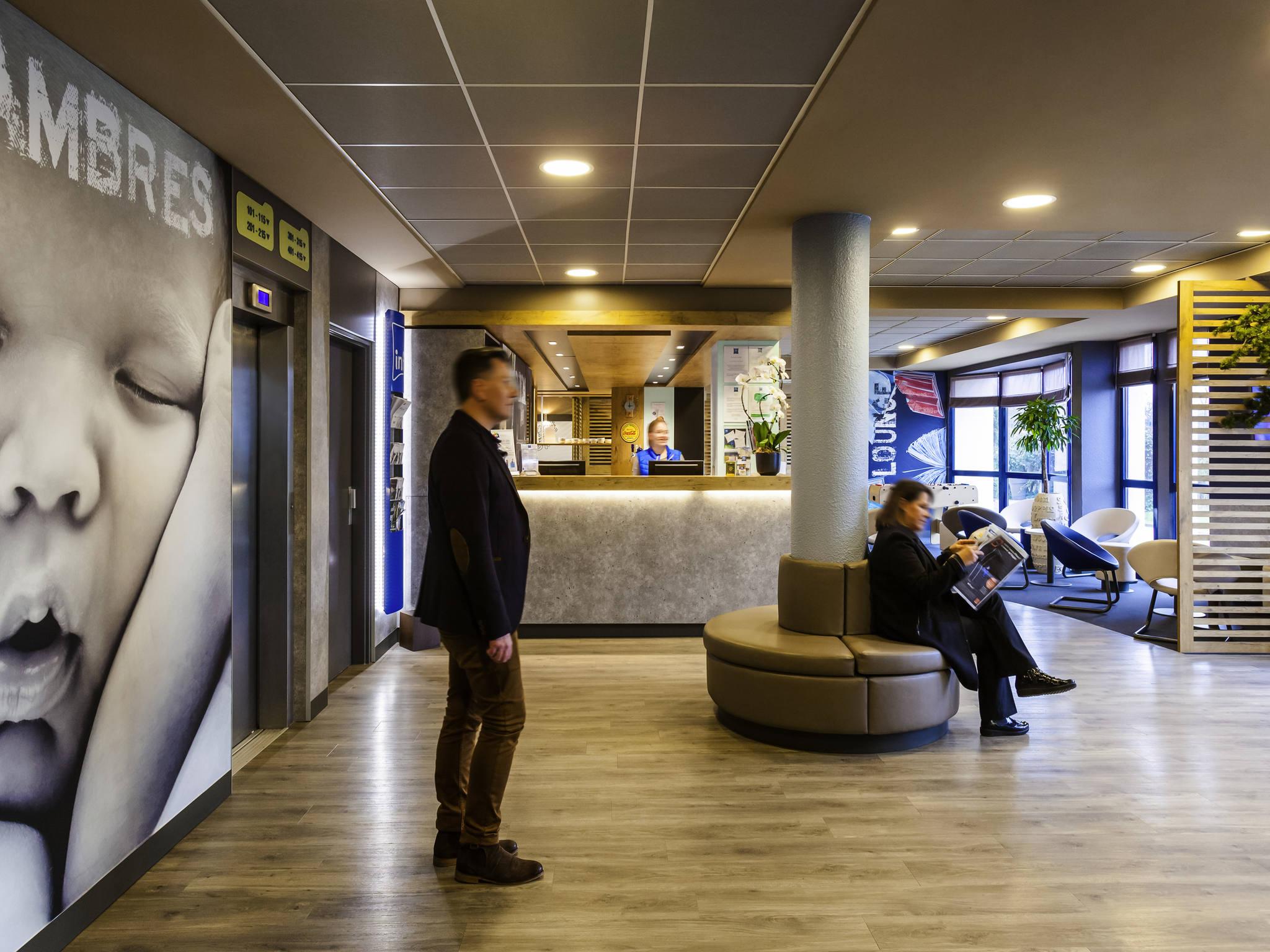 โรงแรม – ibis budget Marne-la-Vallée Pontault-Combault