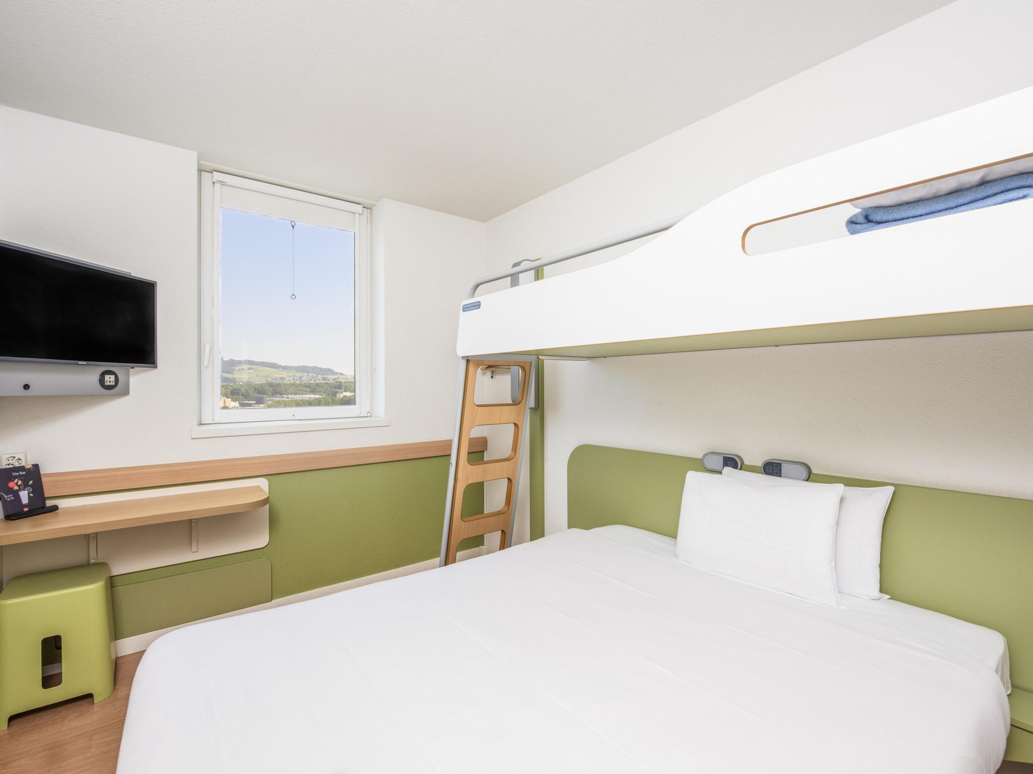 โรงแรม – ibis budget Bern Expo