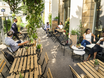 巴黎MONTPARNASSE诺富特酒店