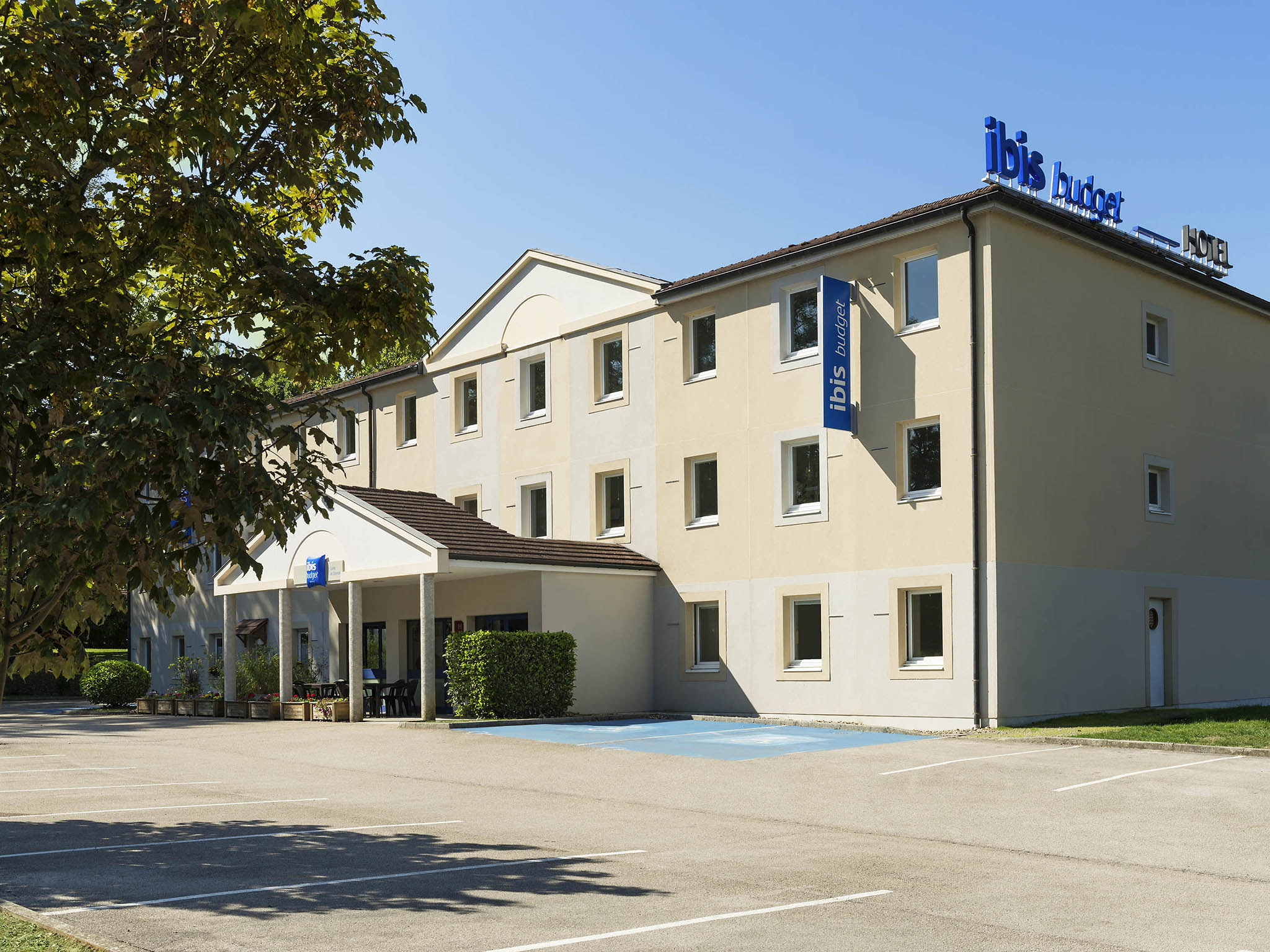 Hotell – ibis budget Lons-le-Saunier