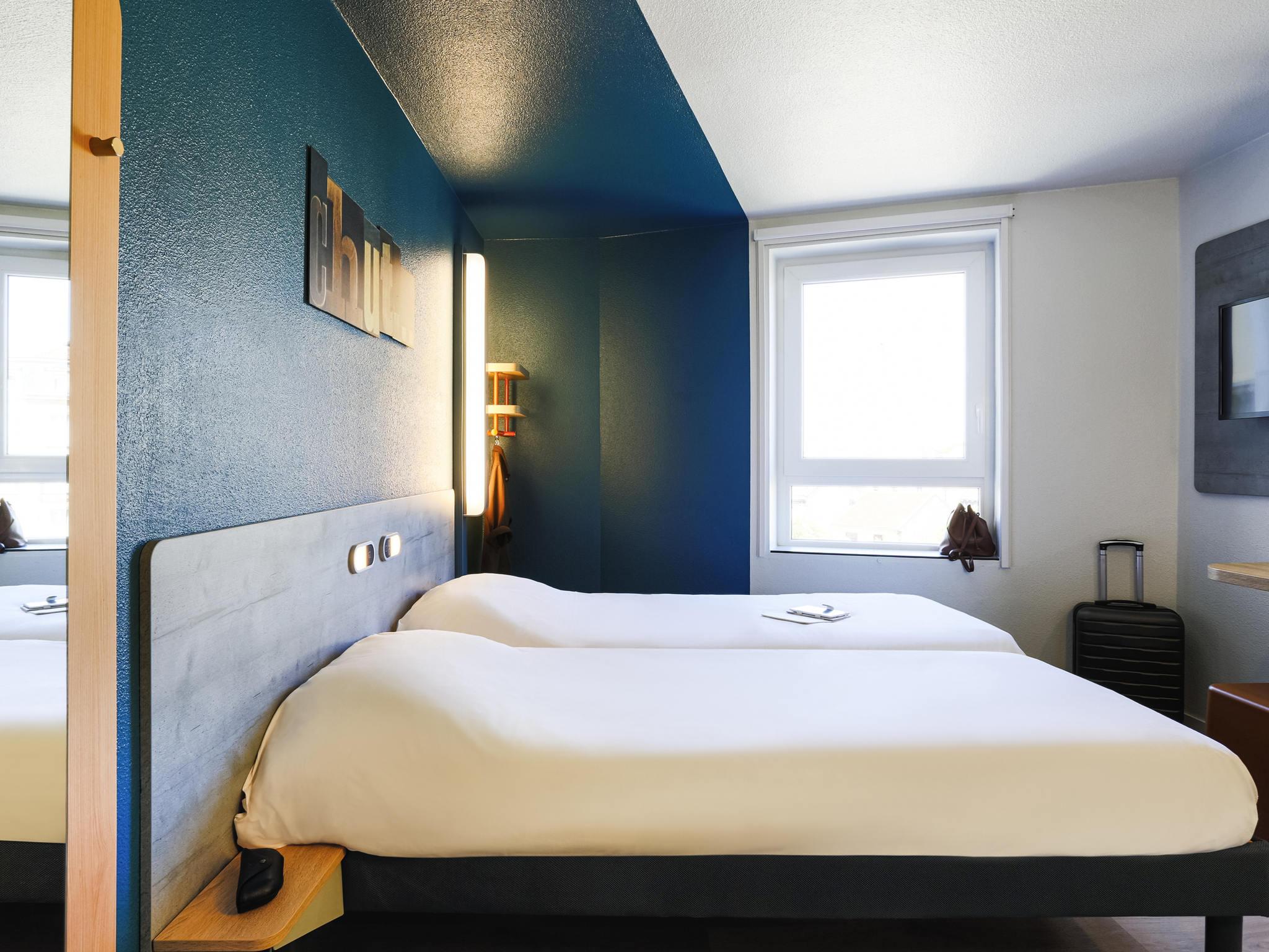 Отель — ibis budget Бордо Гар Сен Жан
