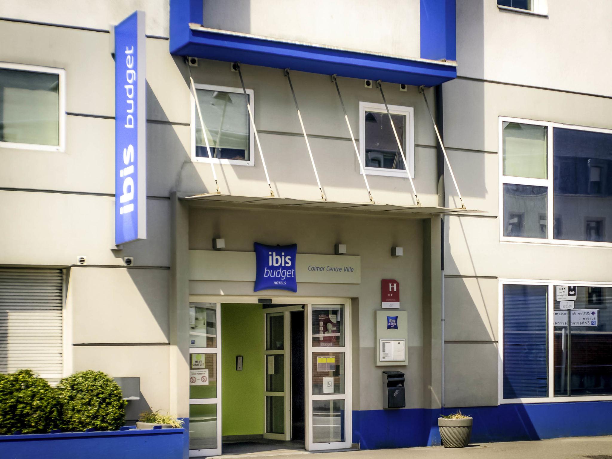 Отель — ibis budget Кольмар Центр