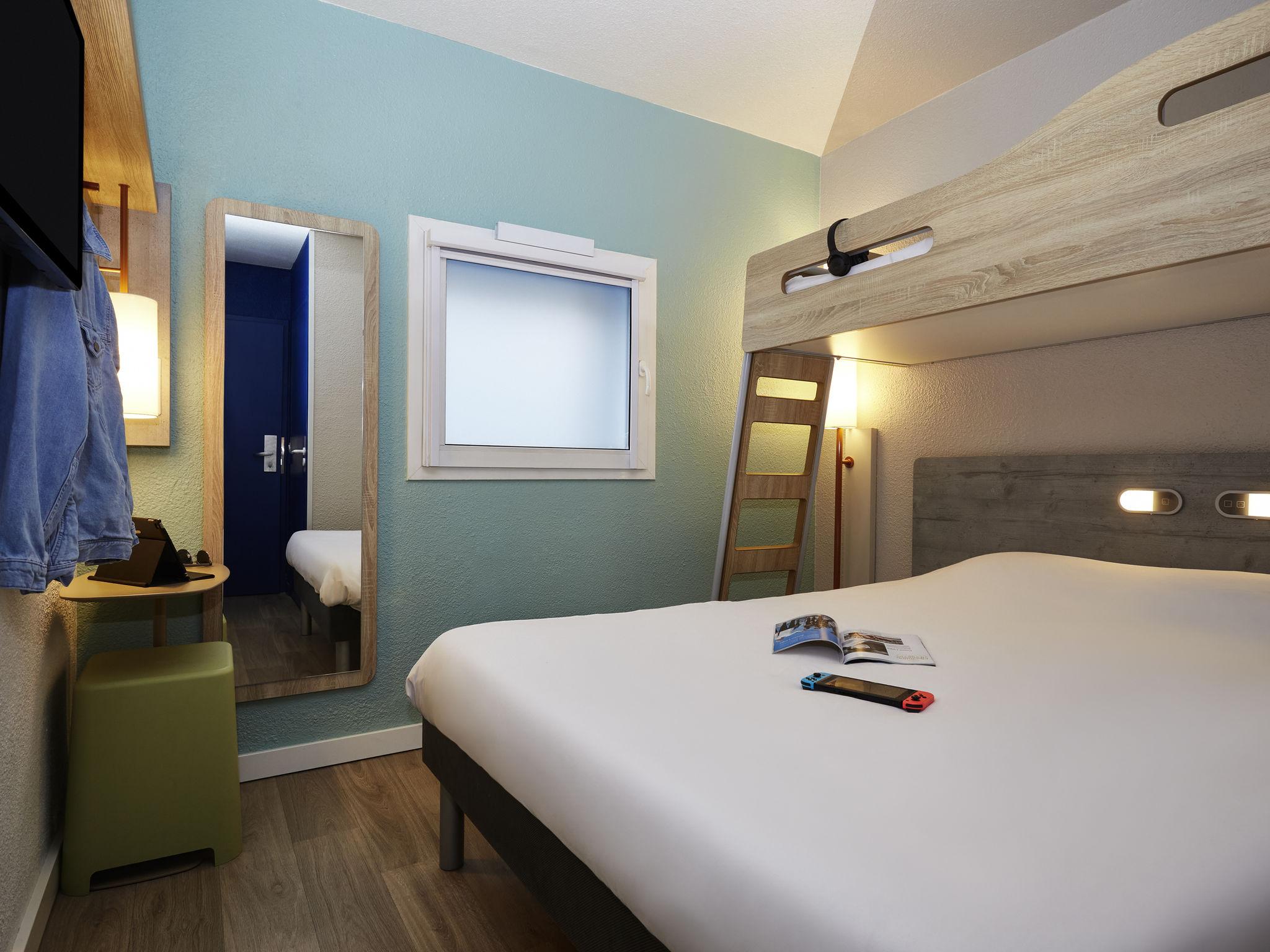Hotel in villeneuve d 39 ascq ibis budget lille villeneuve for Hotels lille