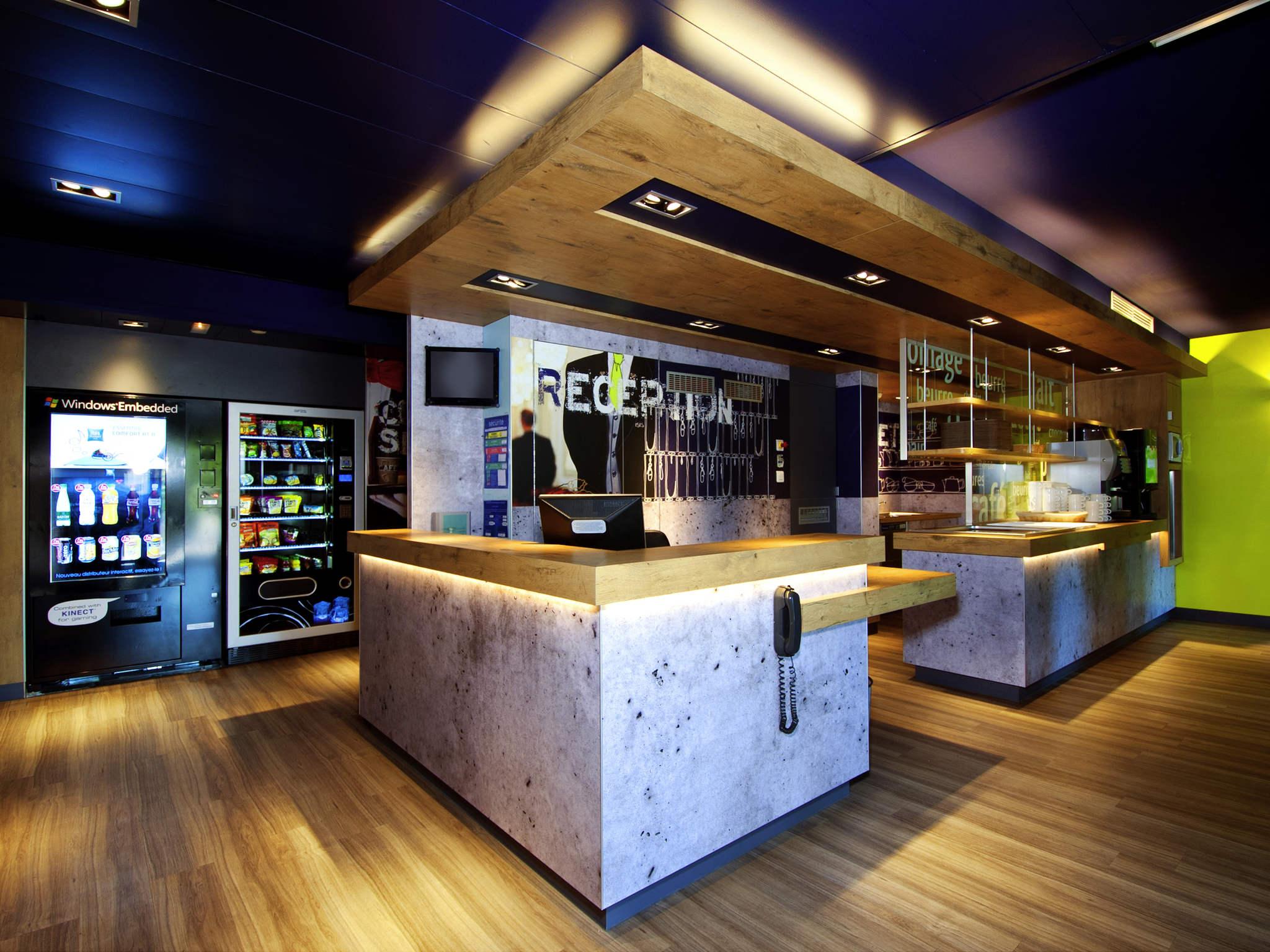โรงแรม – ibis budget Vélizy