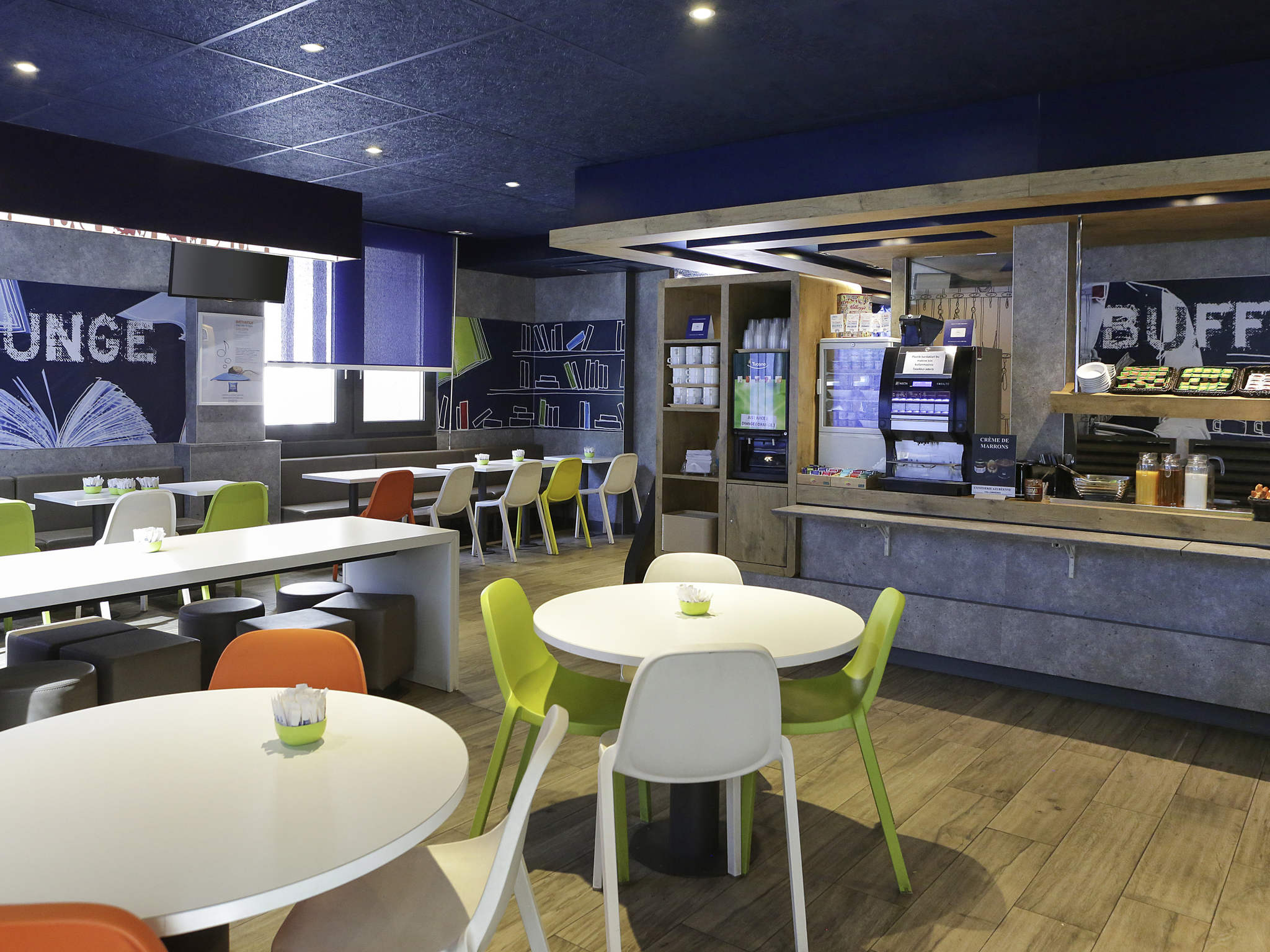 โรงแรม – ibis budget Toulon Centre