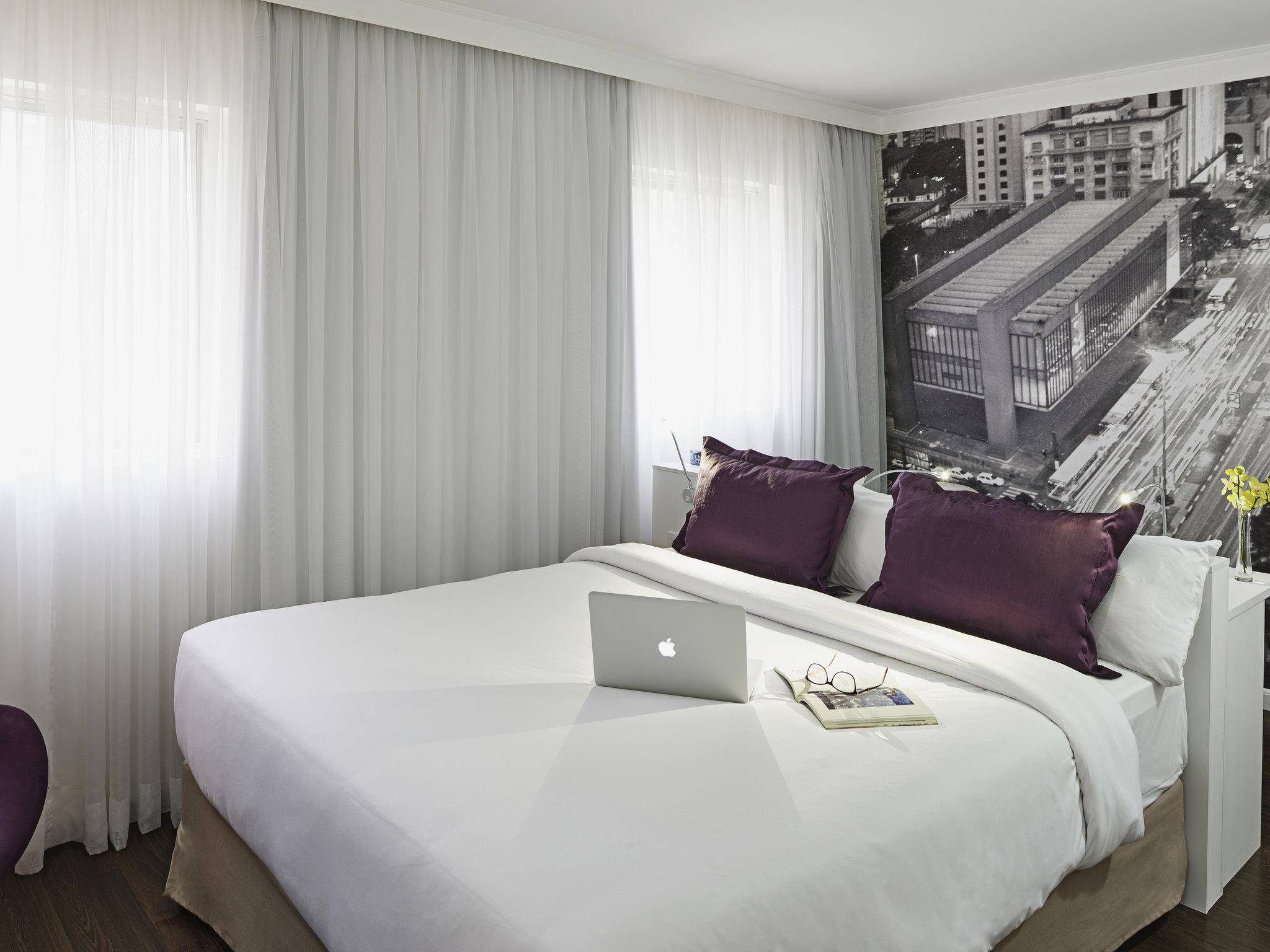 Отель — Mercure Сан-Паулу Паулиста
