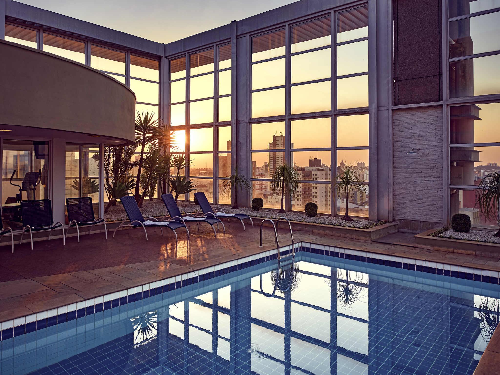 Hotell – Mercure Campinas Hotel