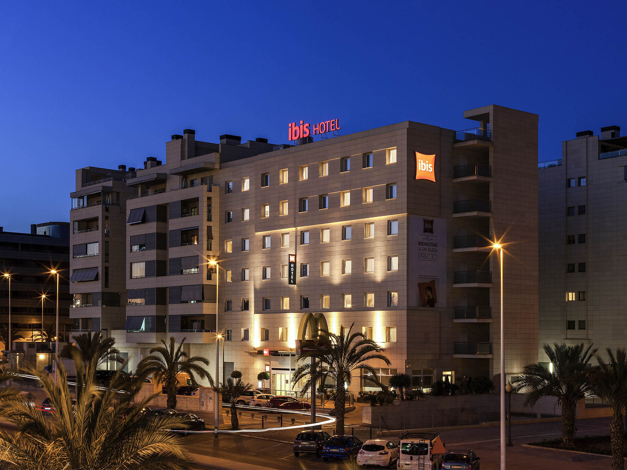 Hotel in elche book your ibis hotel in elche alicante for Hotel diseno alicante