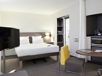 Rooms - Novotel Suites Lille Europe
