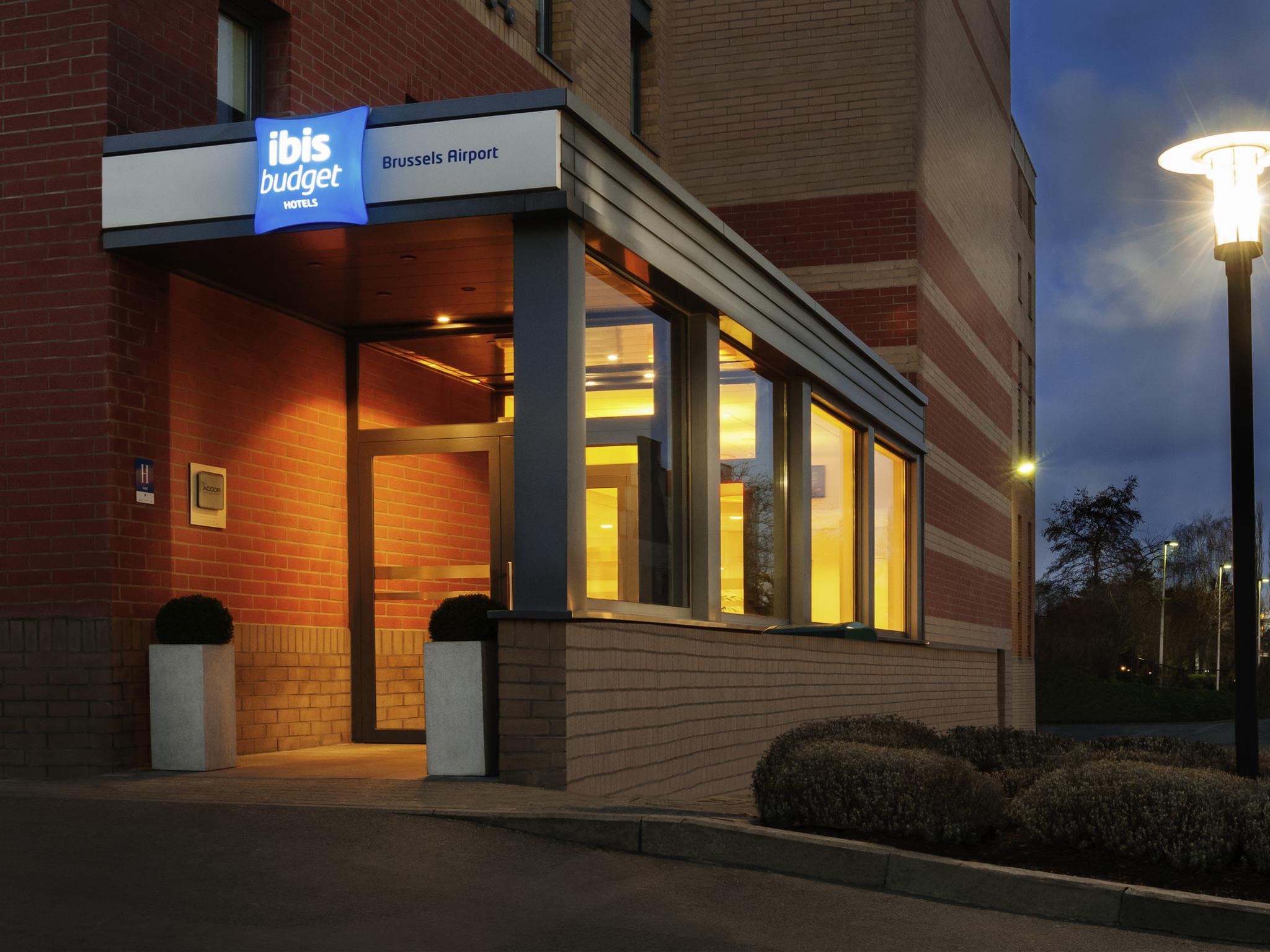 Отель — ibis budget Брюссель Аэропорт