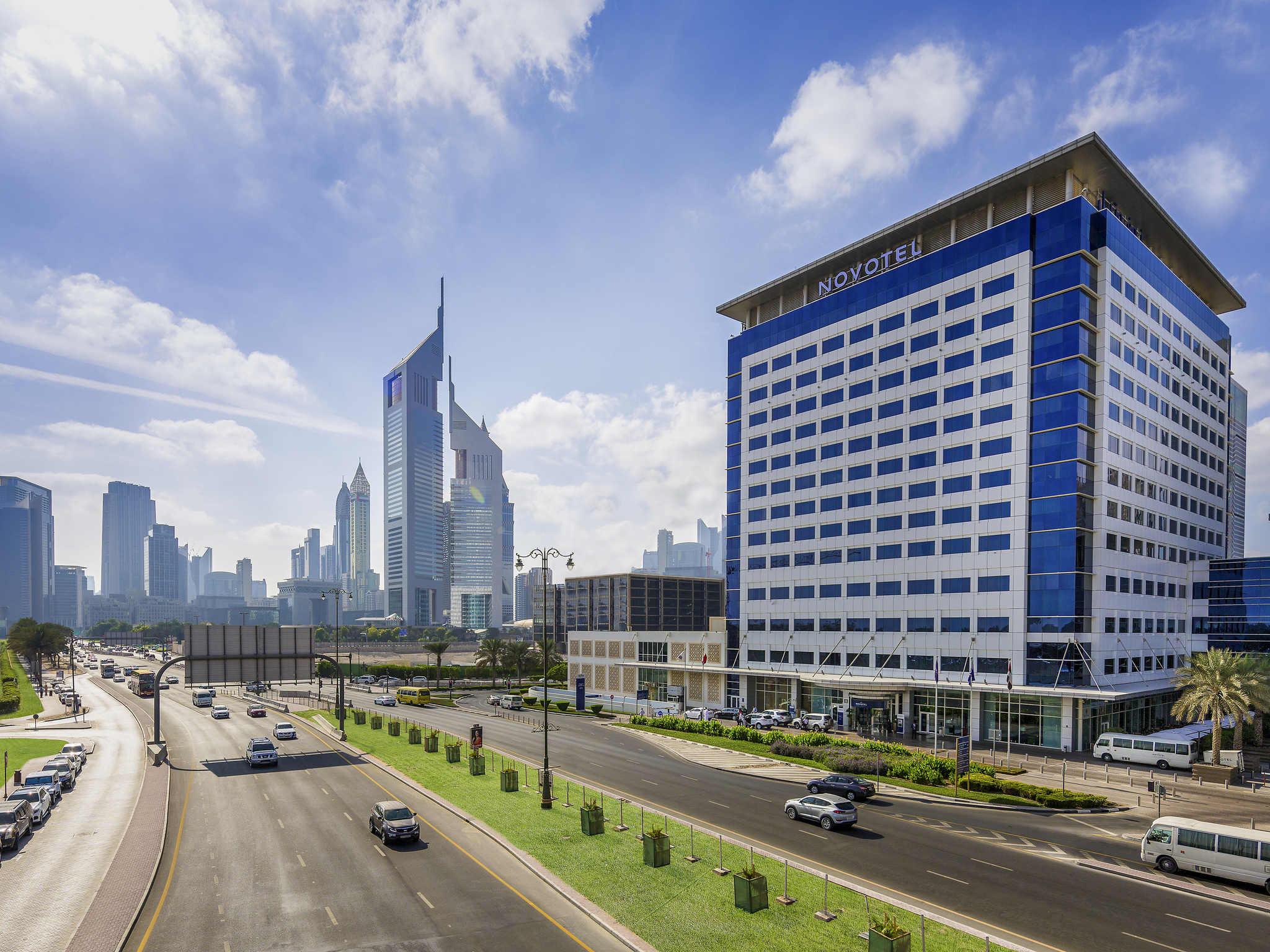 Отель — Novotel Всемирный торговый центр Дубай