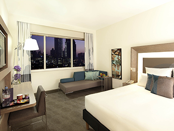Las habitaciones - Novotel World Trade Centre Dubai