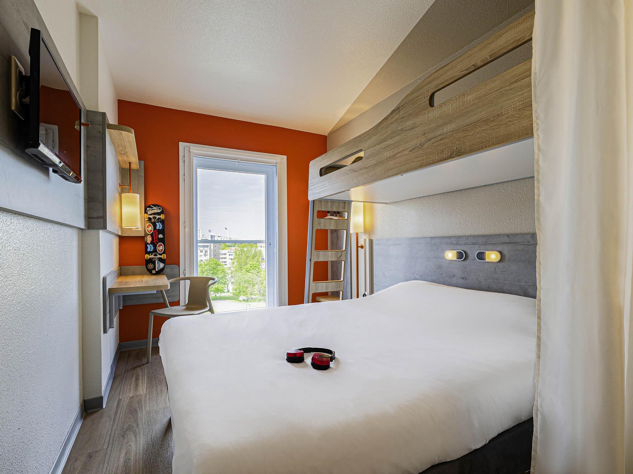 Hotell – ibis budget Paris Porte d'Italie Ouest