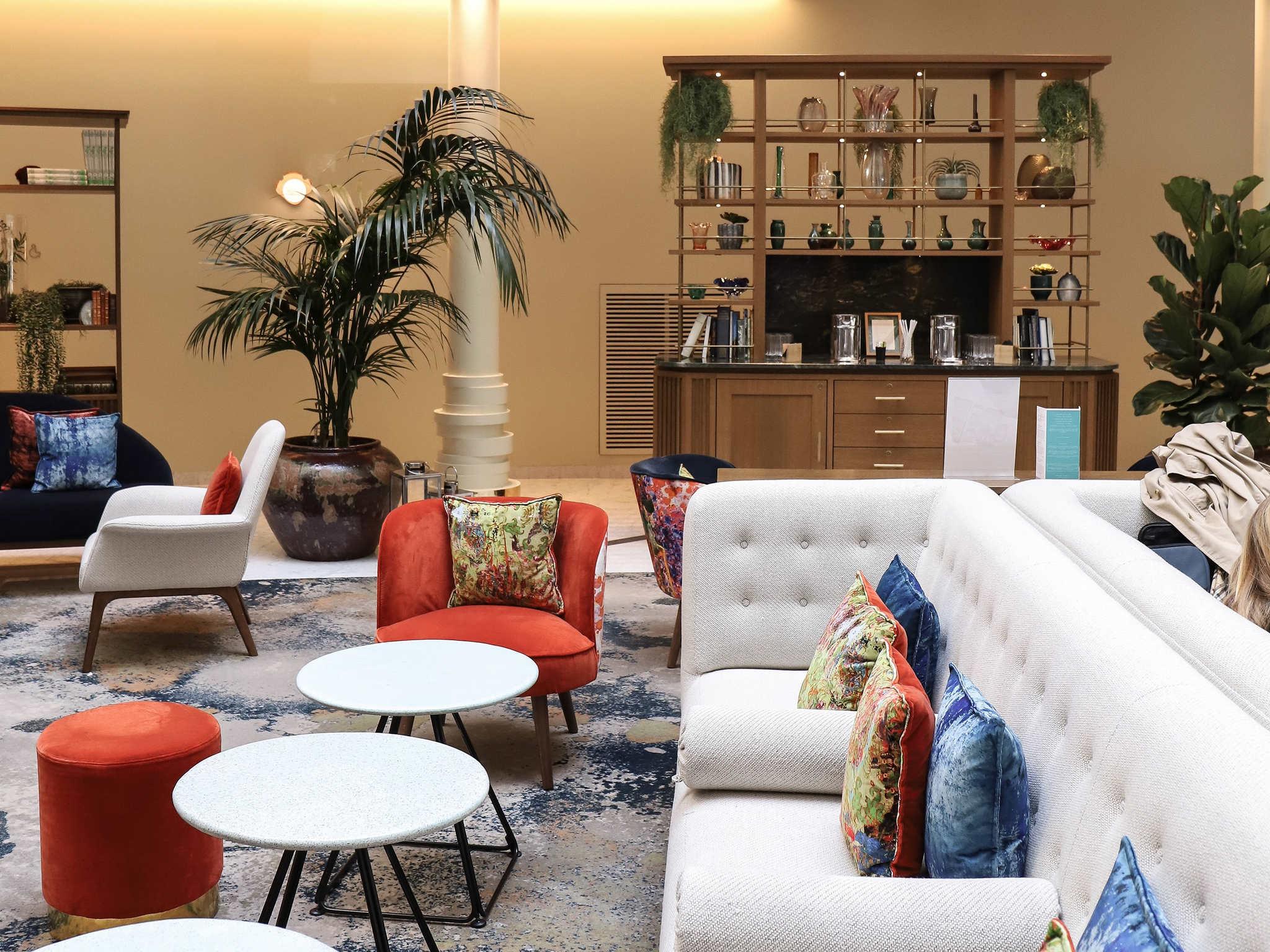 โรงแรม – โซฟิเทล บรัสเซลส์ ยุโรป
