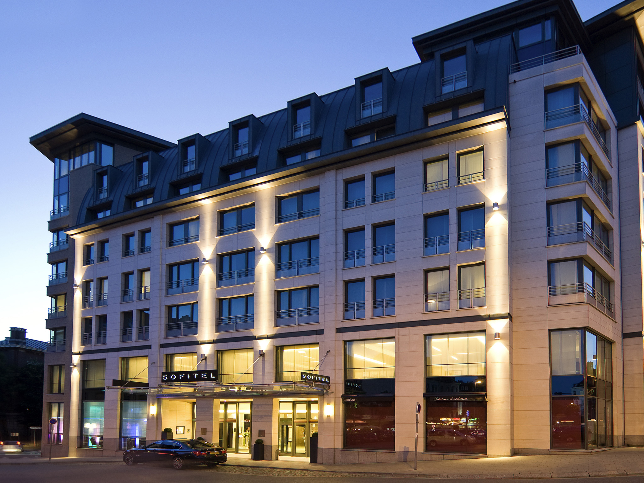 فندق - سوفيتل Sofitel براسيلز يوروب