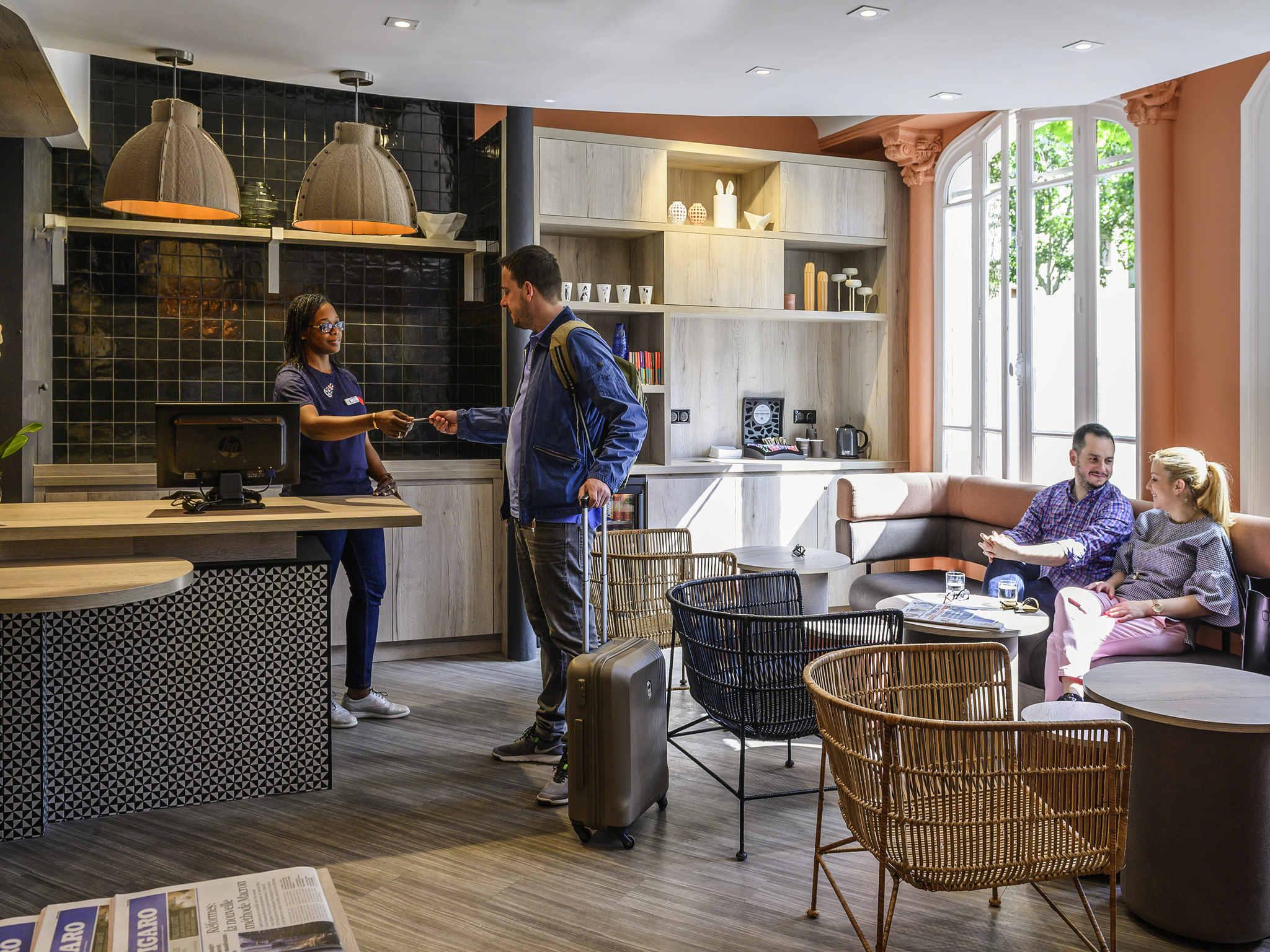 酒店 – 宜必思巴黎蒙帕纳斯大厦 15ème 酒店