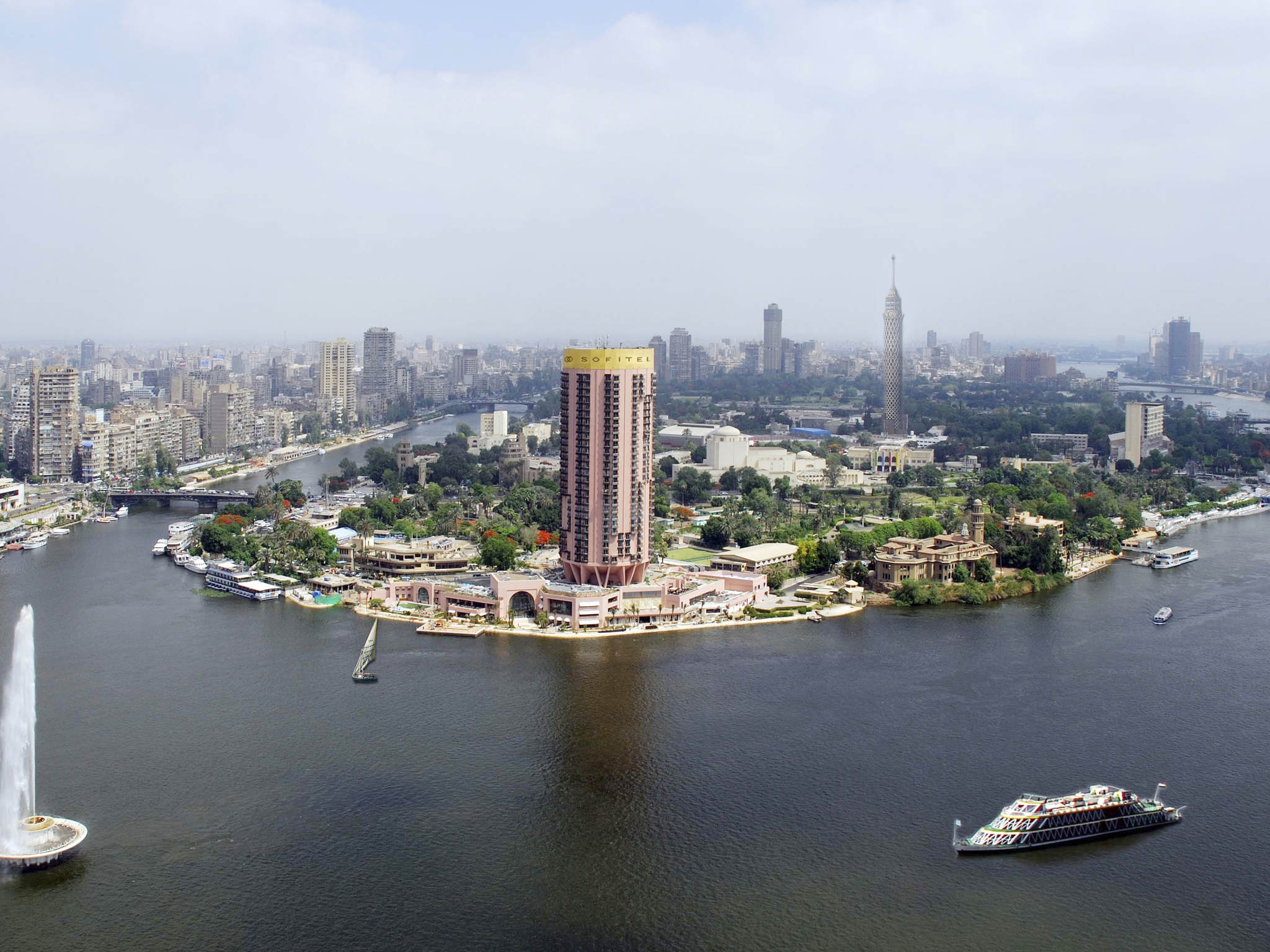โรงแรม – Sofitel Cairo Nile El Gezirah